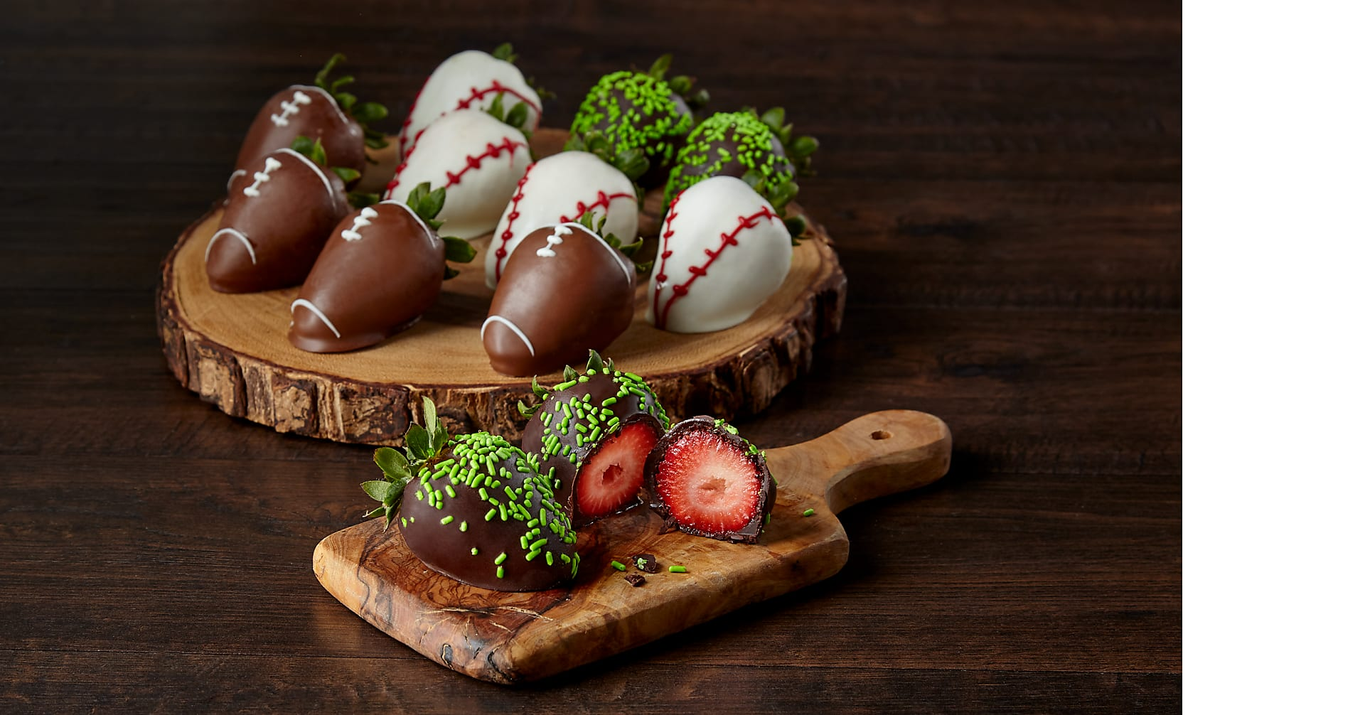 One Dozen Belgian Chocolate Covered Strawberries for Dad - Image 1 Of 2