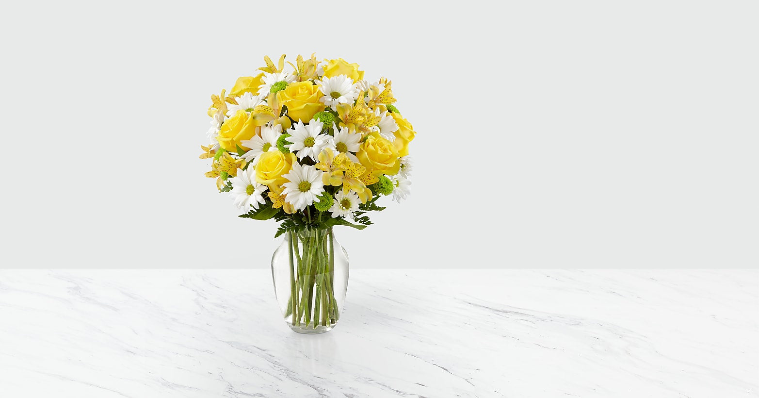 Sunny Sentiments Bouquet - Image 1 Of 3