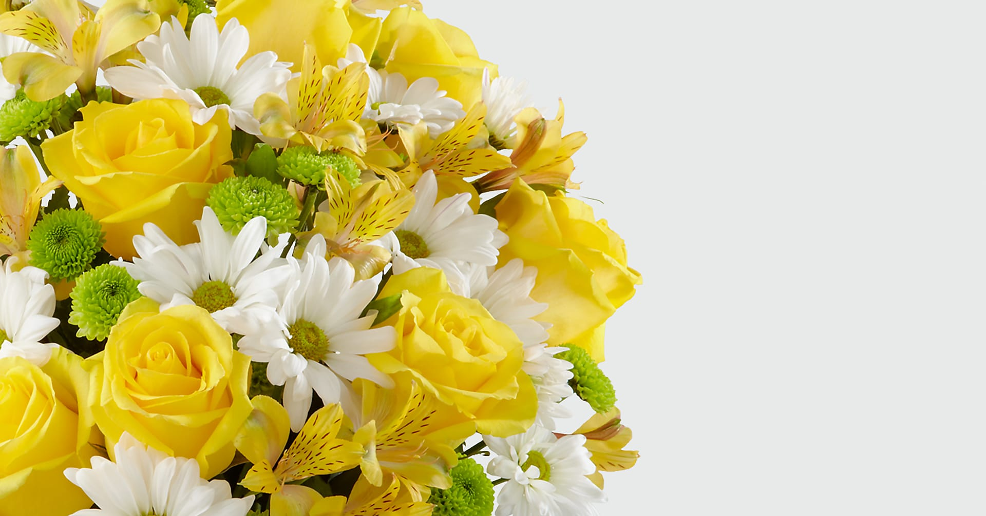 The Sunny Sentiments™ Bouquet - VASE INCLUDED - Image 3 Of 4
