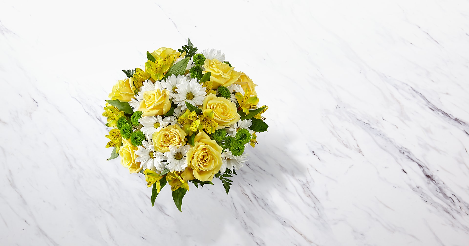 The Sunny Sentiments™ Bouquet - VASE INCLUDED - Image 2 Of 4