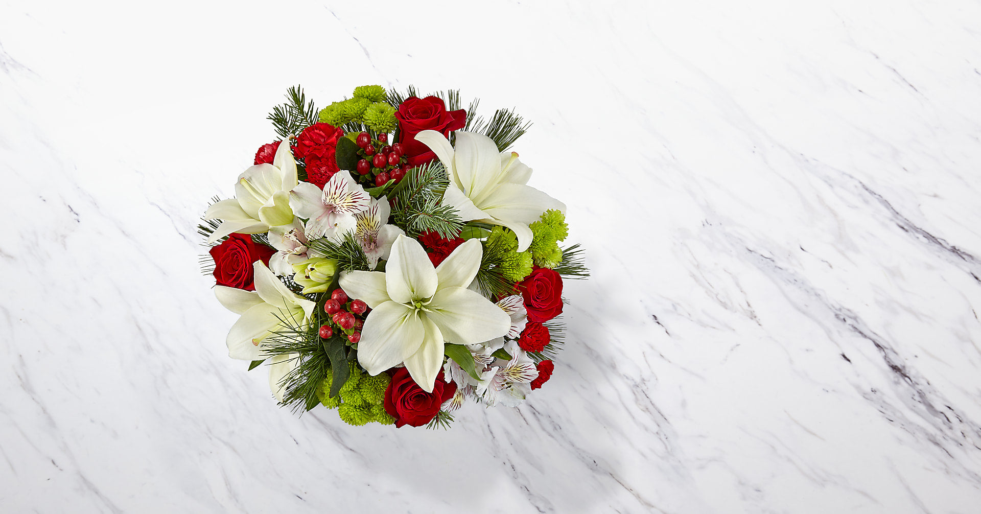 Christmas Spirit Bouquet - Image 2 Of 4