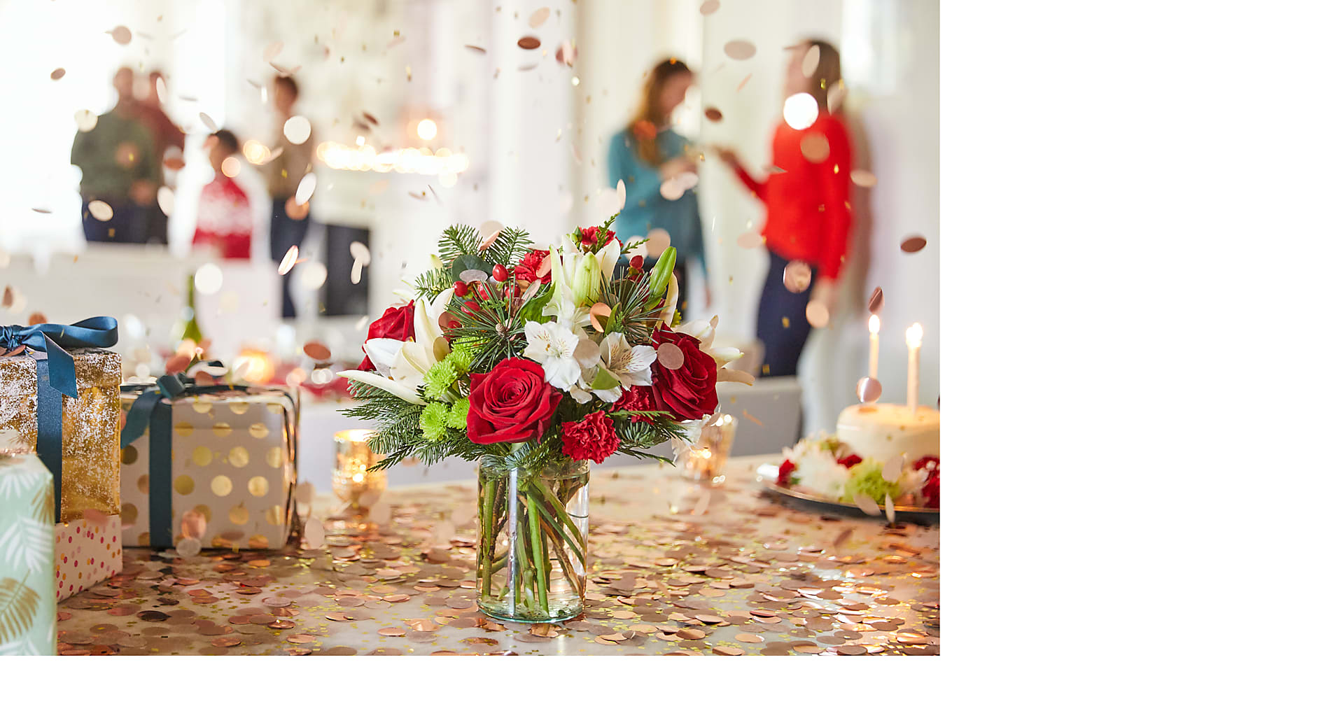 Christmas Spirit Bouquet - Image 4 Of 4