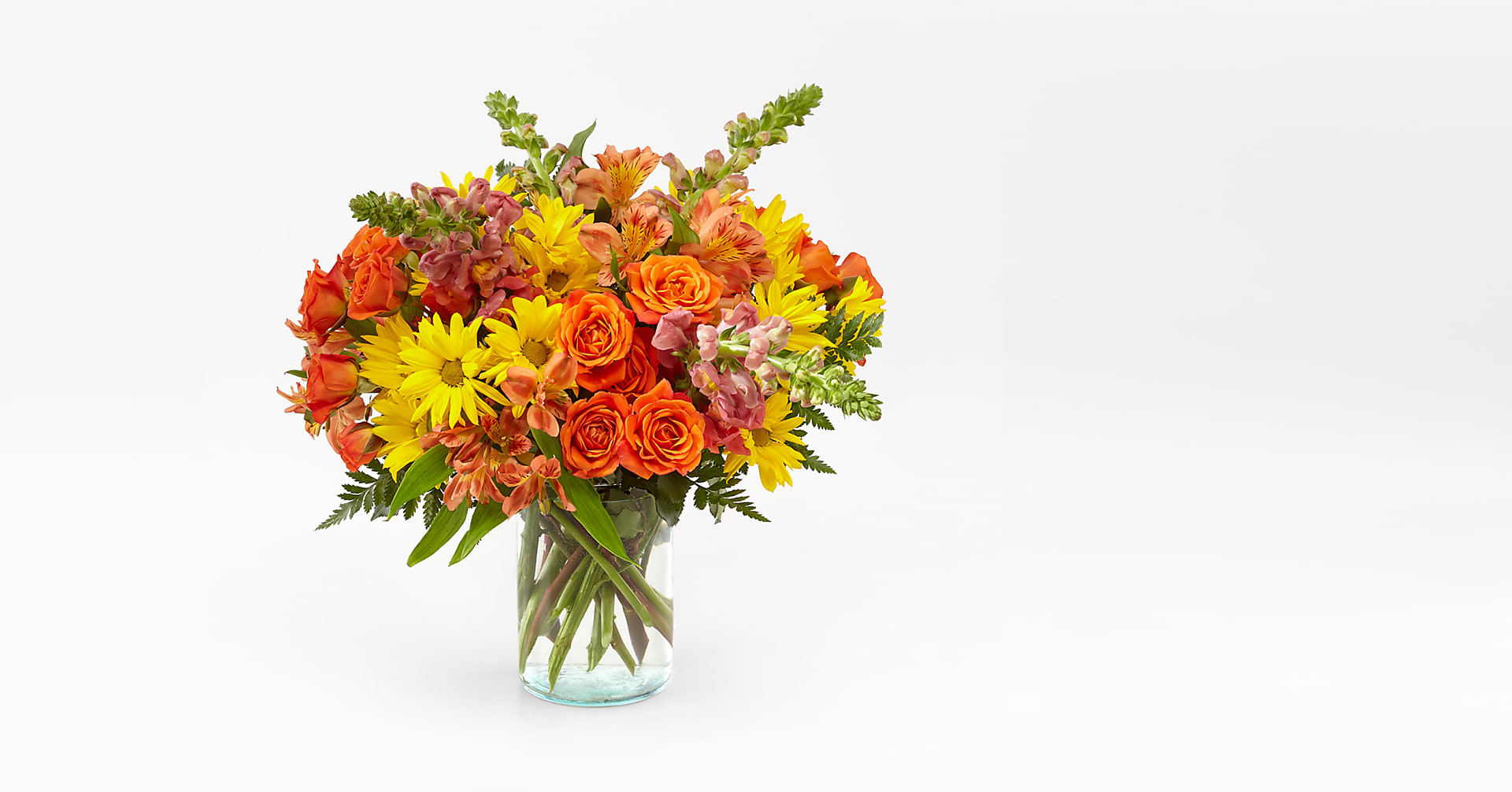 Warm Amber Bouquet - Image 1 Of 2
