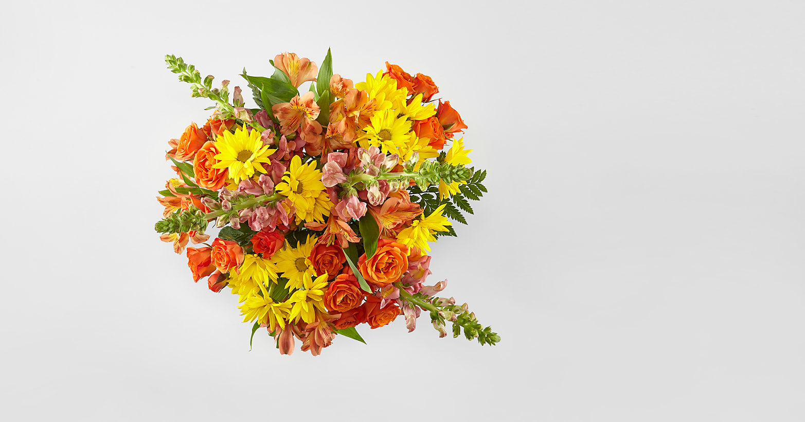 Warm Amber Bouquet - Image 2 Of 2