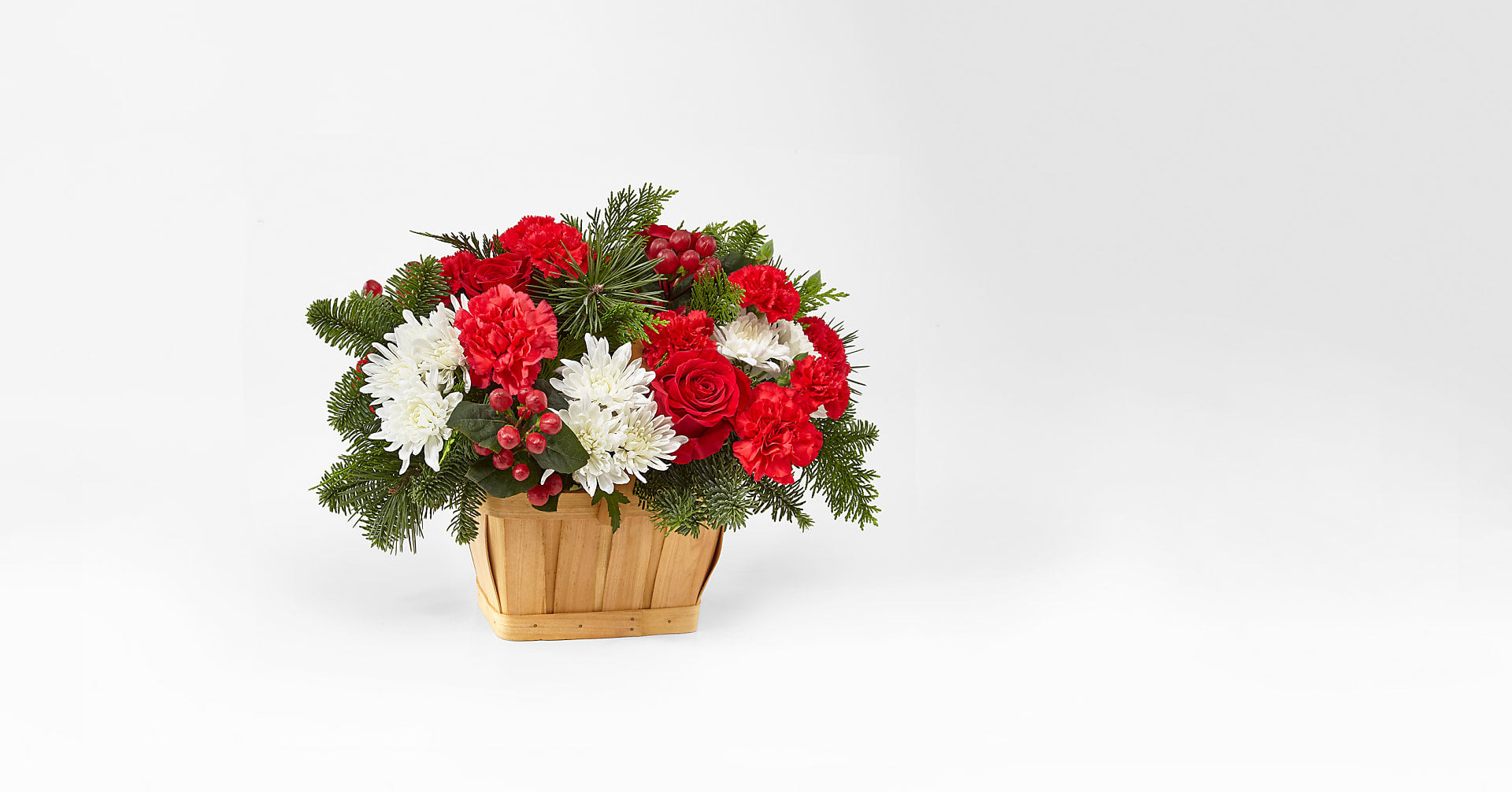 Good Tidings Floral Basket - Image 1 Of 2