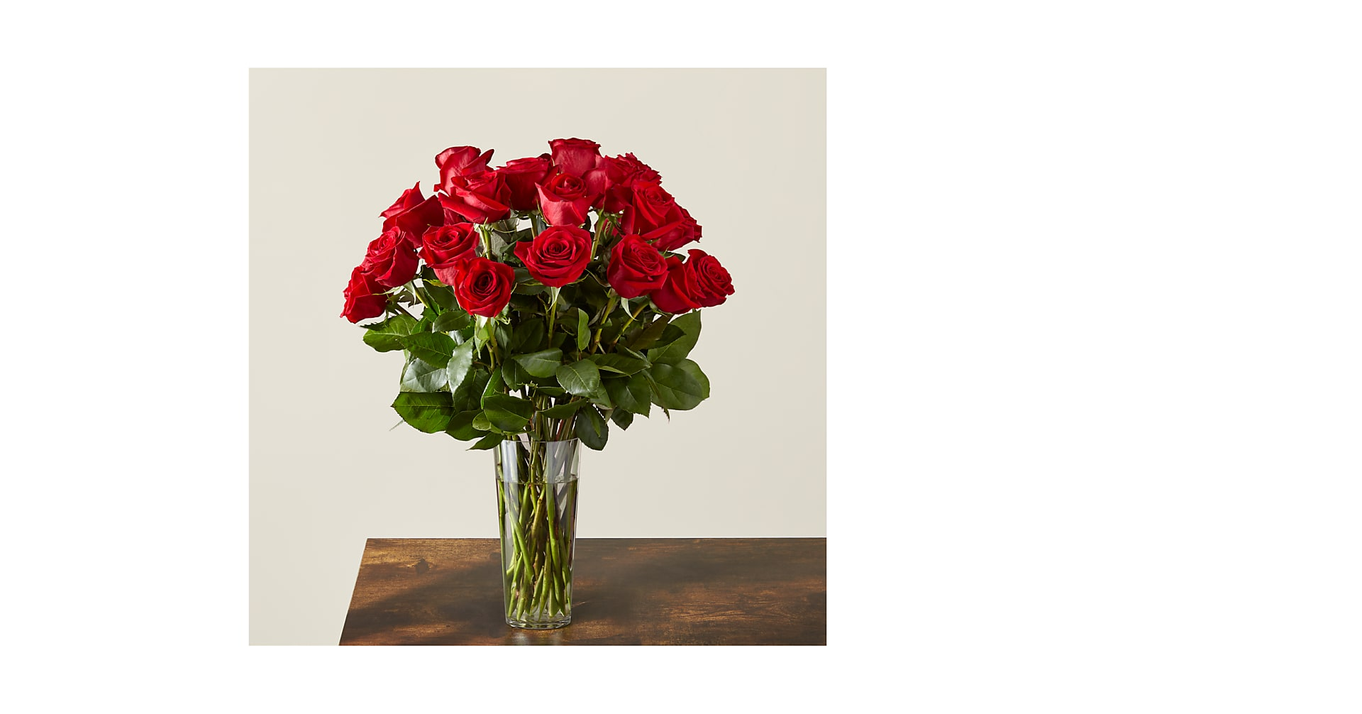 Long Stem Red Rose Bouquet - Image 1 Of 4