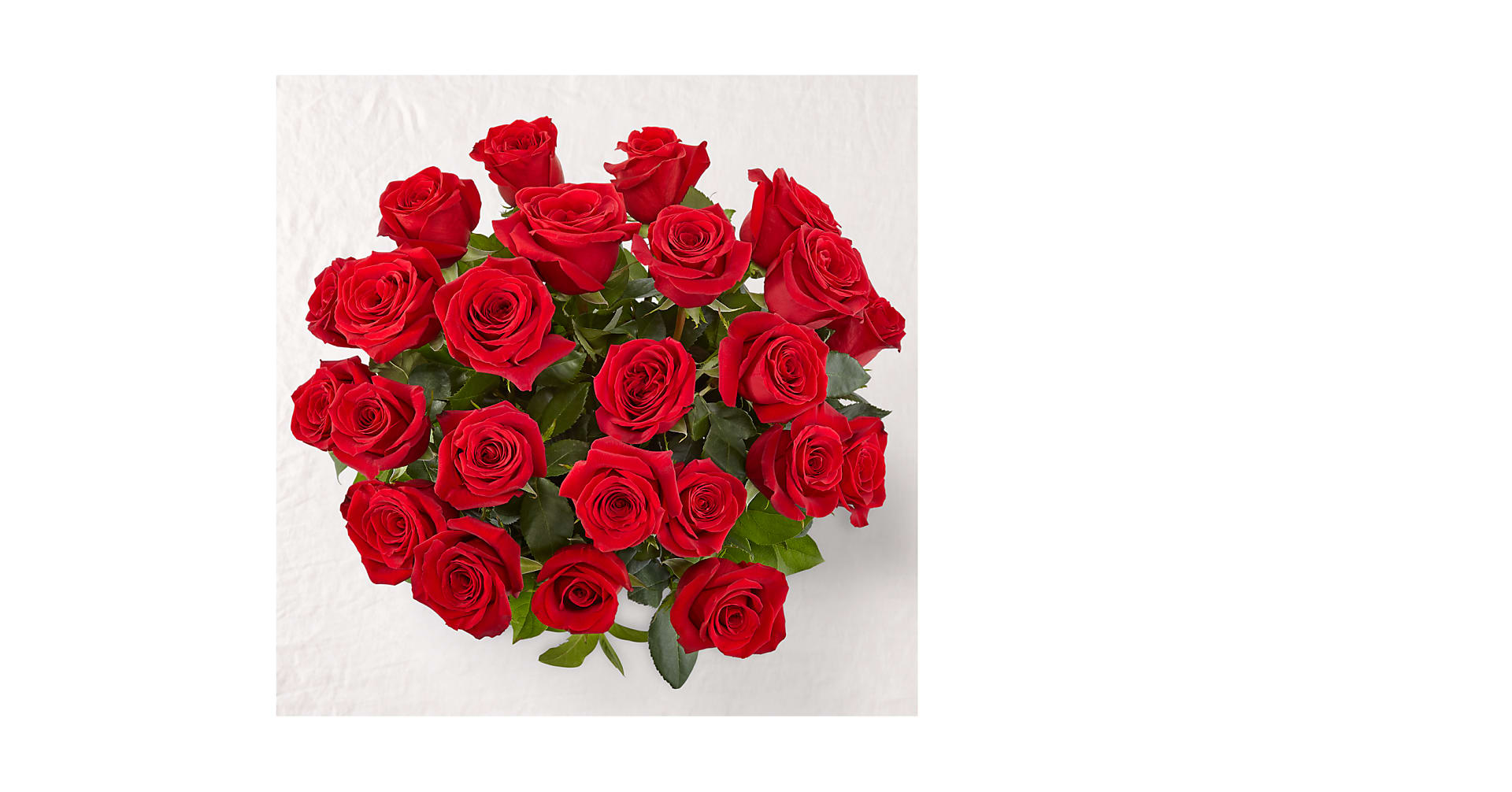 Long Stem Red Rose Bouquet - Image 2 Of 3