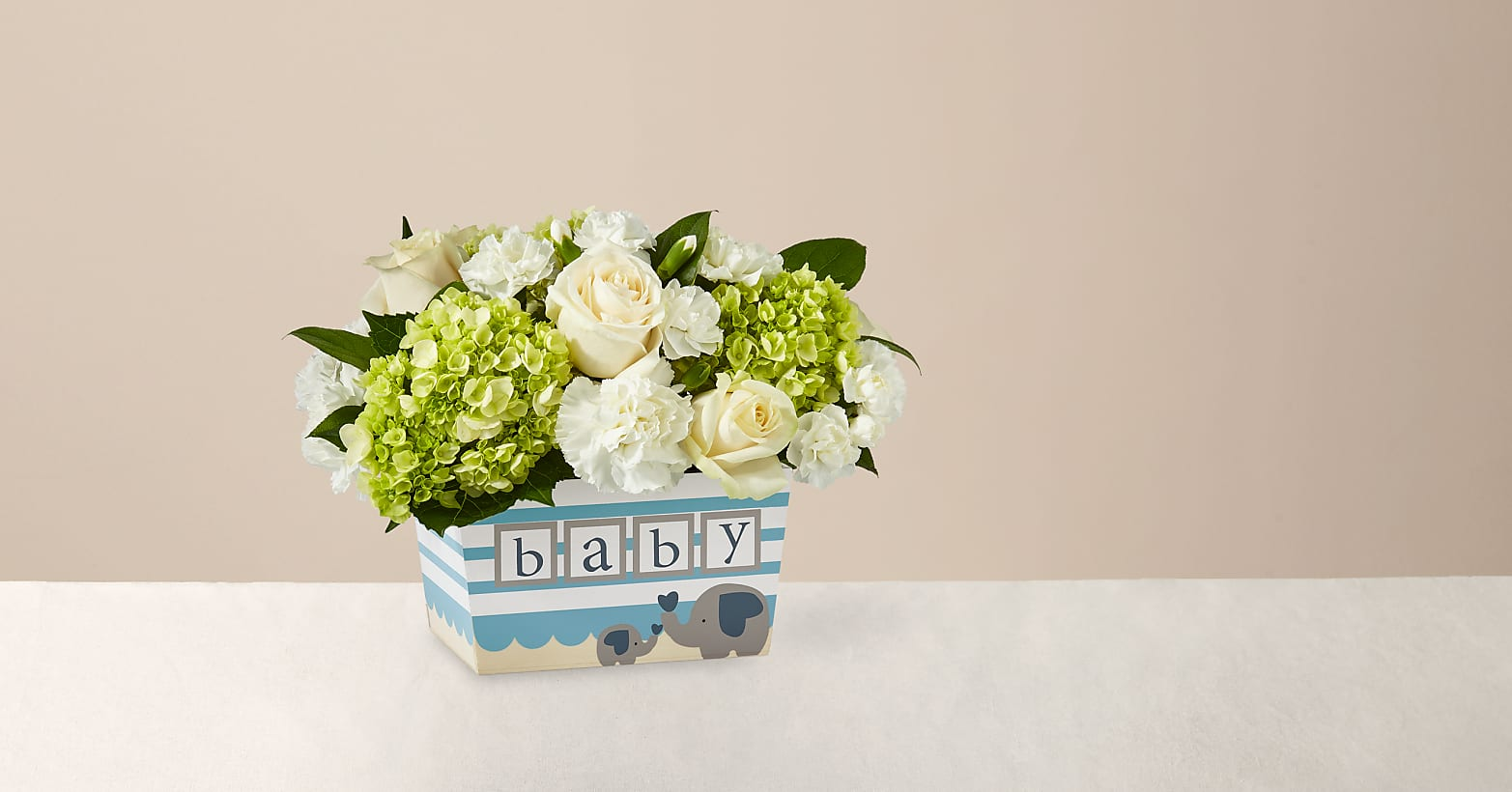 Darling Baby Boy Bouquet - Image 1 Of 3