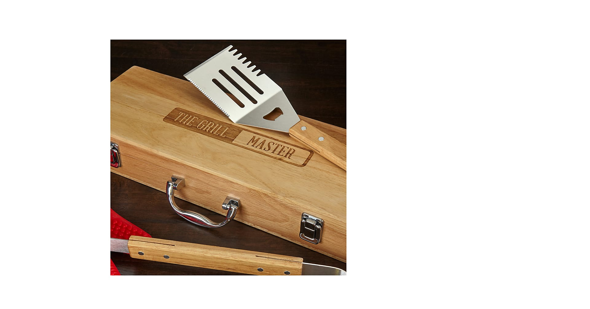 Grill Master Barbeque Tool Set - Image 2 Of 3