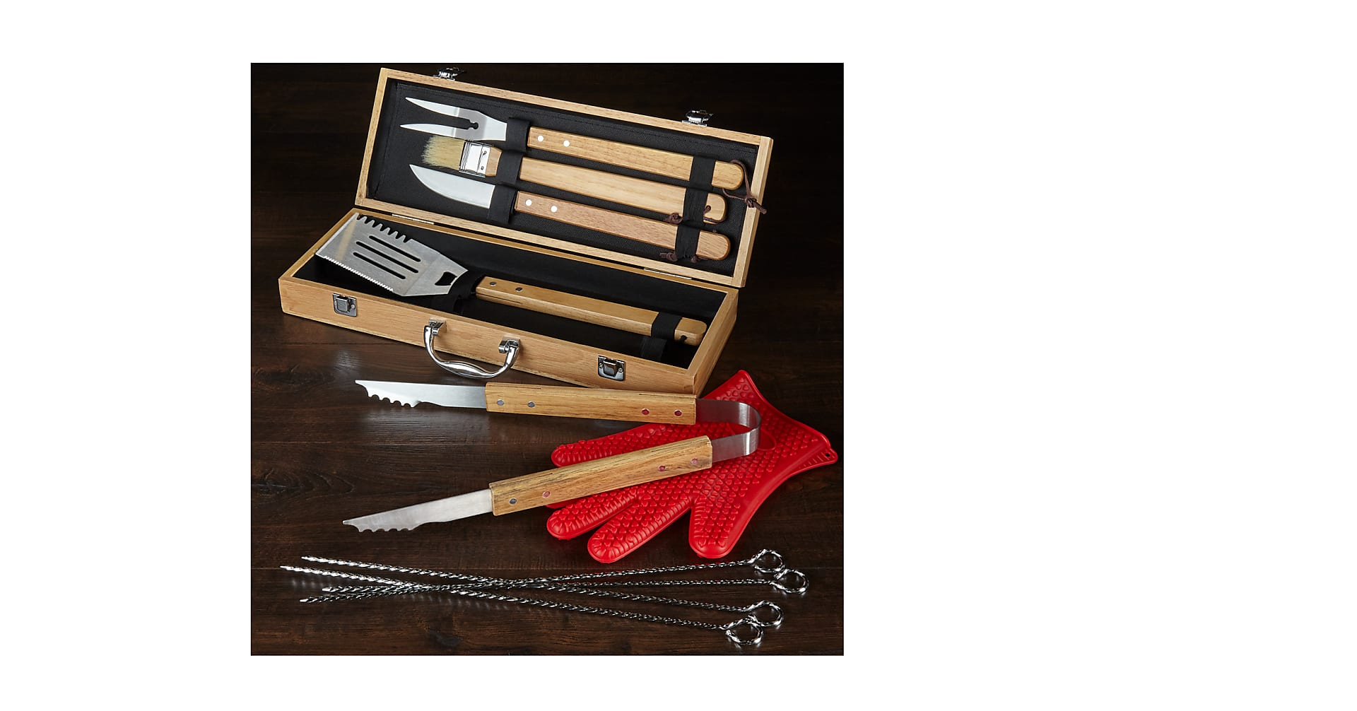 Grill Master Barbeque Tool Set - Image 1 Of 3