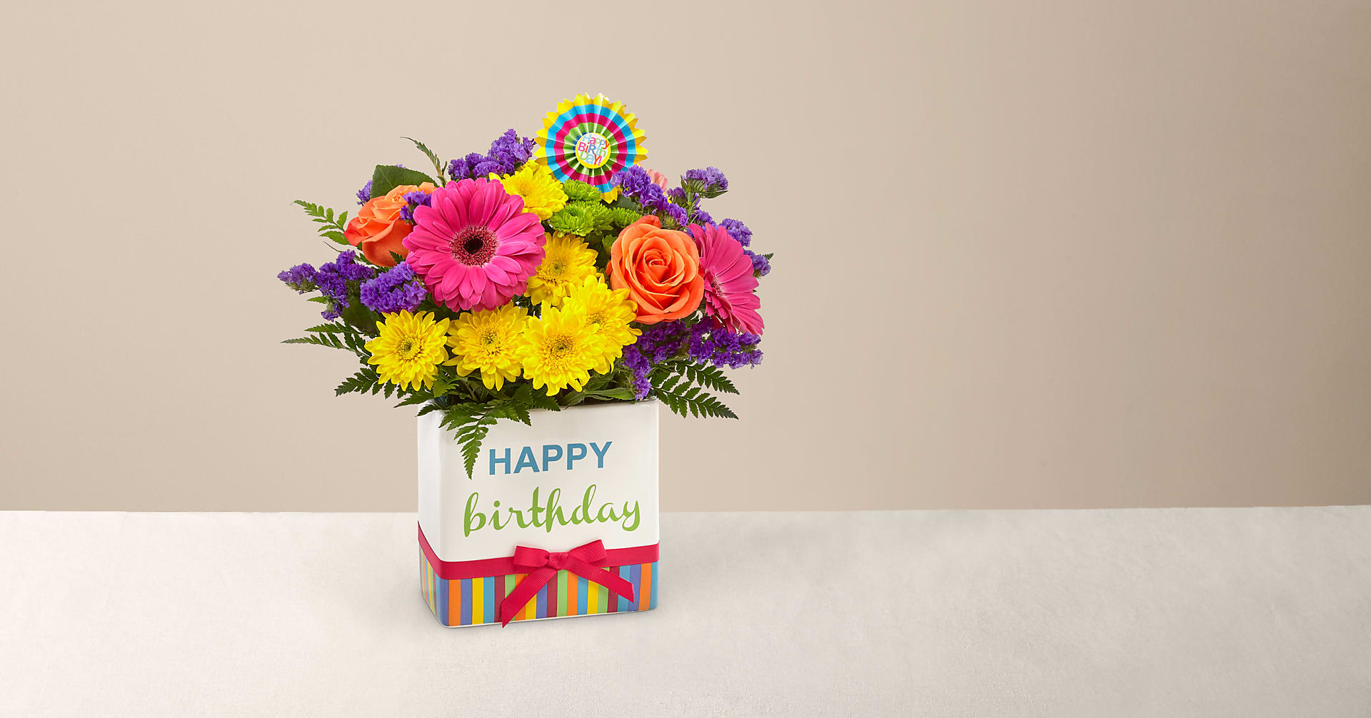 Birthday Brights™ Bouquet - Image 1 Of 4