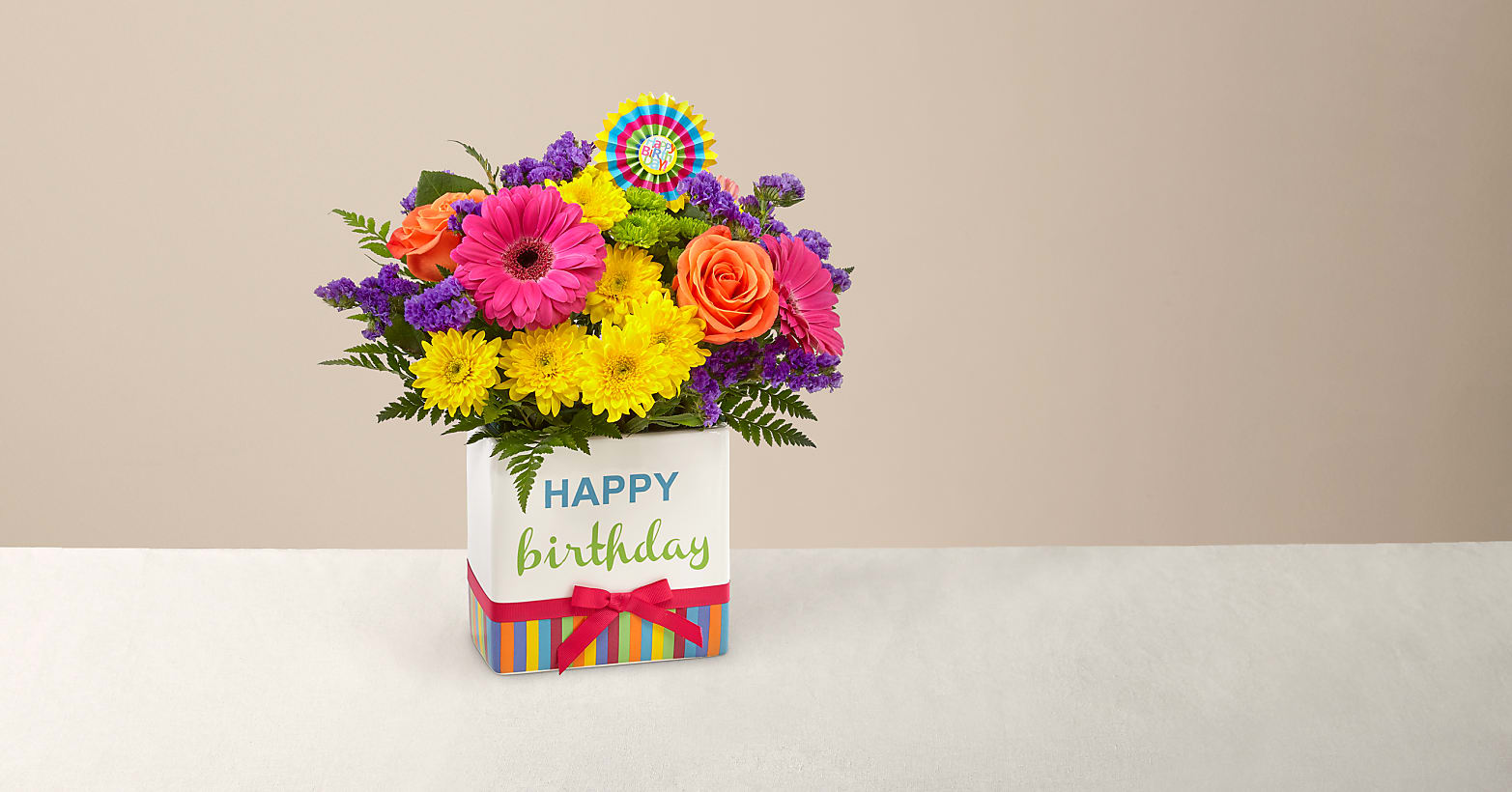 Birthday Brights Bouquet - Image 1 Of 4