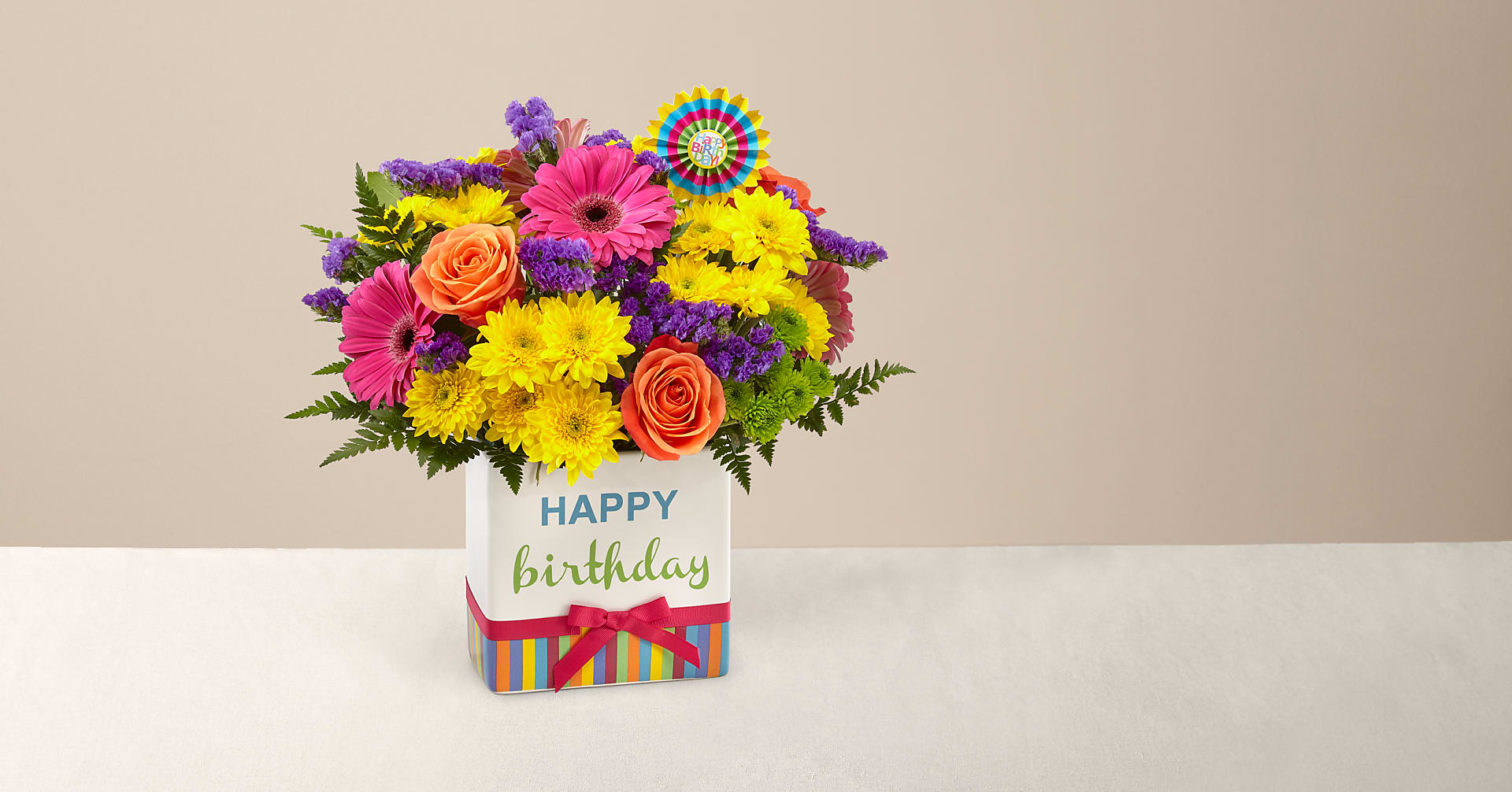 Birthday Brights™ Bouquet - Image 1 Of 6
