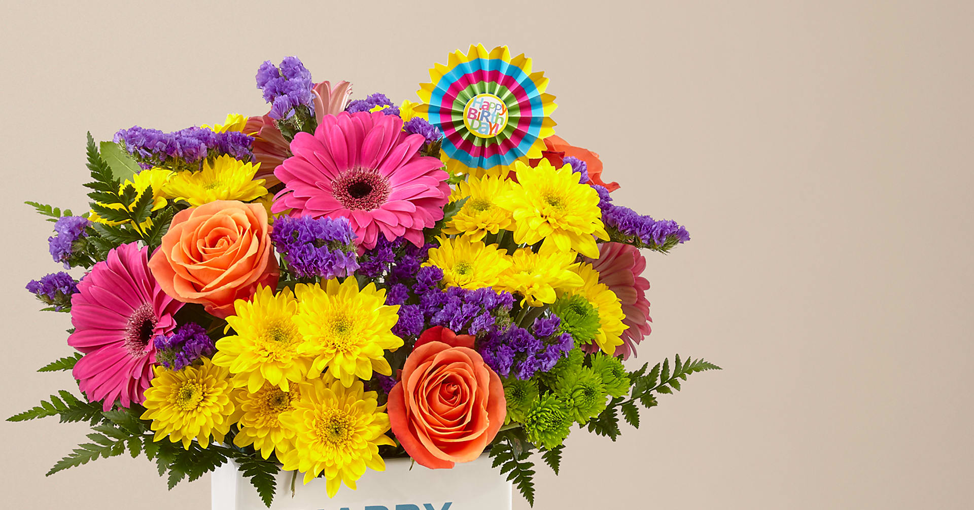 Birthday Brights™ Bouquet - Image 3 Of 6