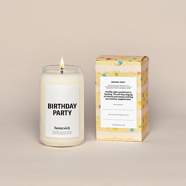 Birthday Party Homesick Candle - Image 2 Of 4