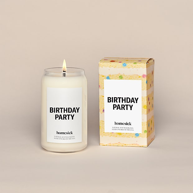 Birthday Party Homesick Candle - Image 1 Of 4