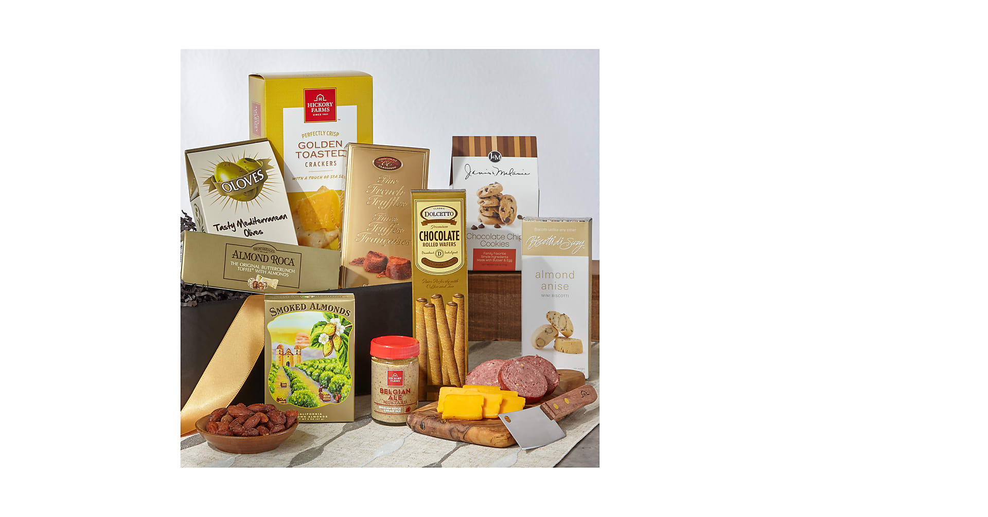 The FTD® Classic Gourmet Salami and Cheese Box - Image 1 Of 3