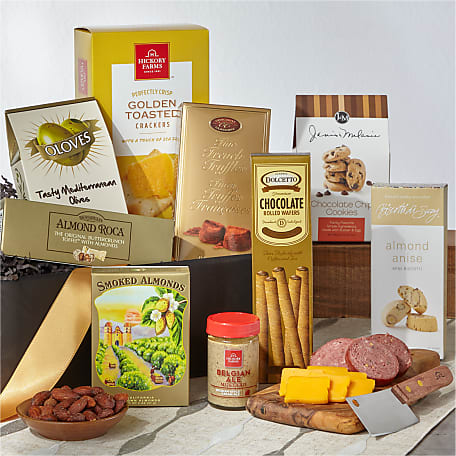 The FTD® Classic Gourmet Salami and Cheese Box