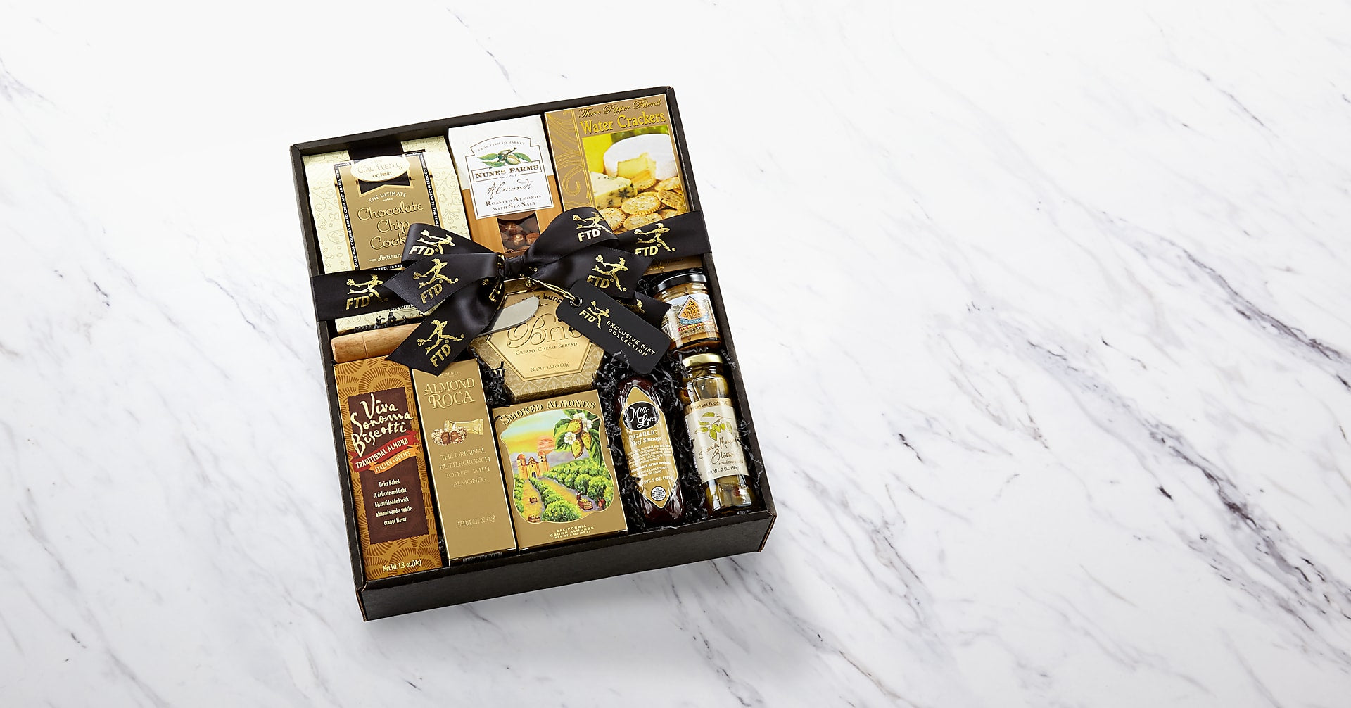 The FTD® Classic Gourmet Salami and Cheese Box - Image 2 Of 3