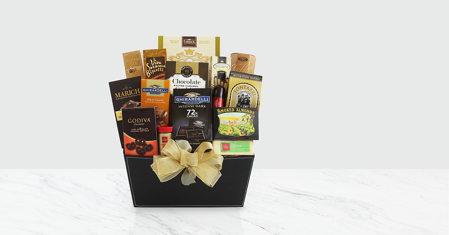 Fine and Fancy Gourmet Gift Box - Image 1 Of 2