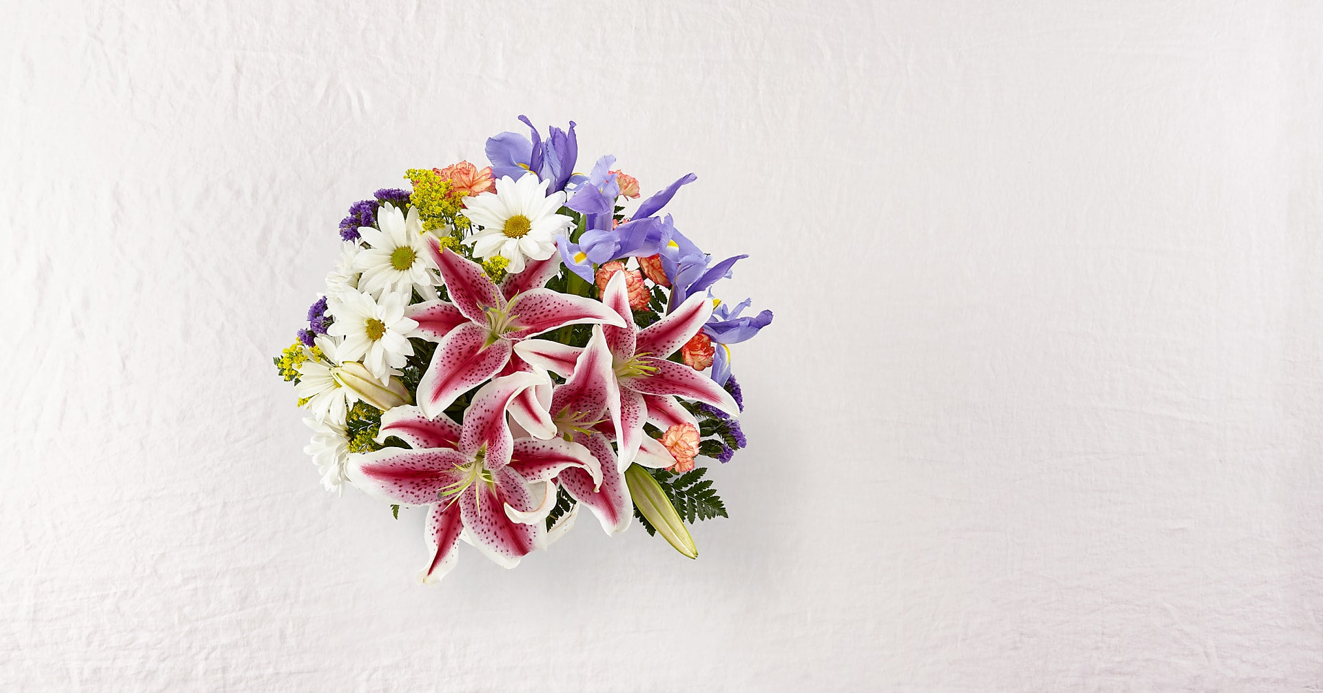 The Wondrous Nature™ Bouquet – Basket Included - Image 2 Of 3