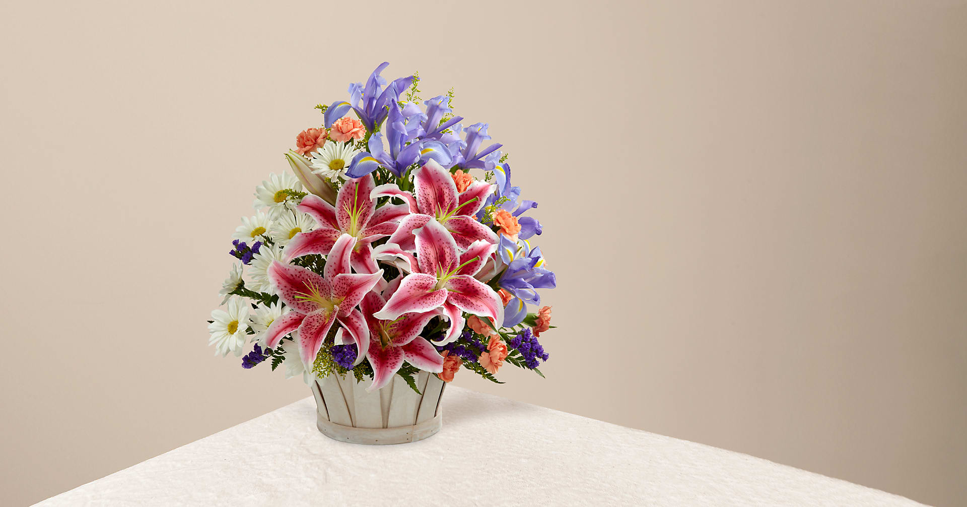 The Wondrous Nature™ Bouquet - BASKET INCLUDED - Image 1 Of 3