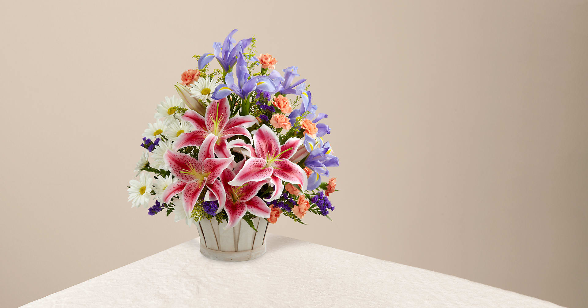 The Wondrous Nature™ Bouquet - BASKET INCLUDED - Image 1 Of 4