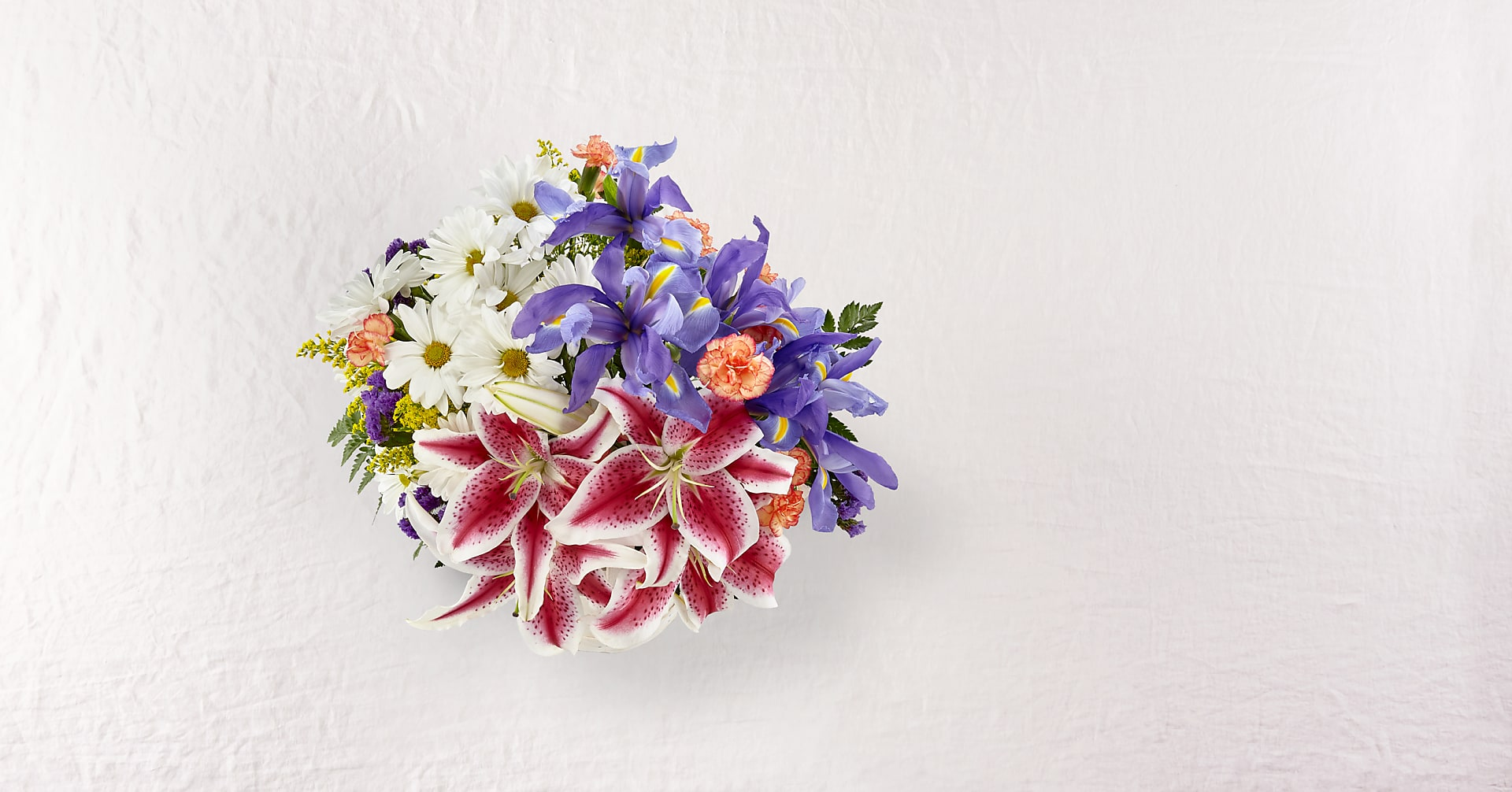 The Wondrous Nature™ Bouquet - BASKET INCLUDED - Image 2 Of 4