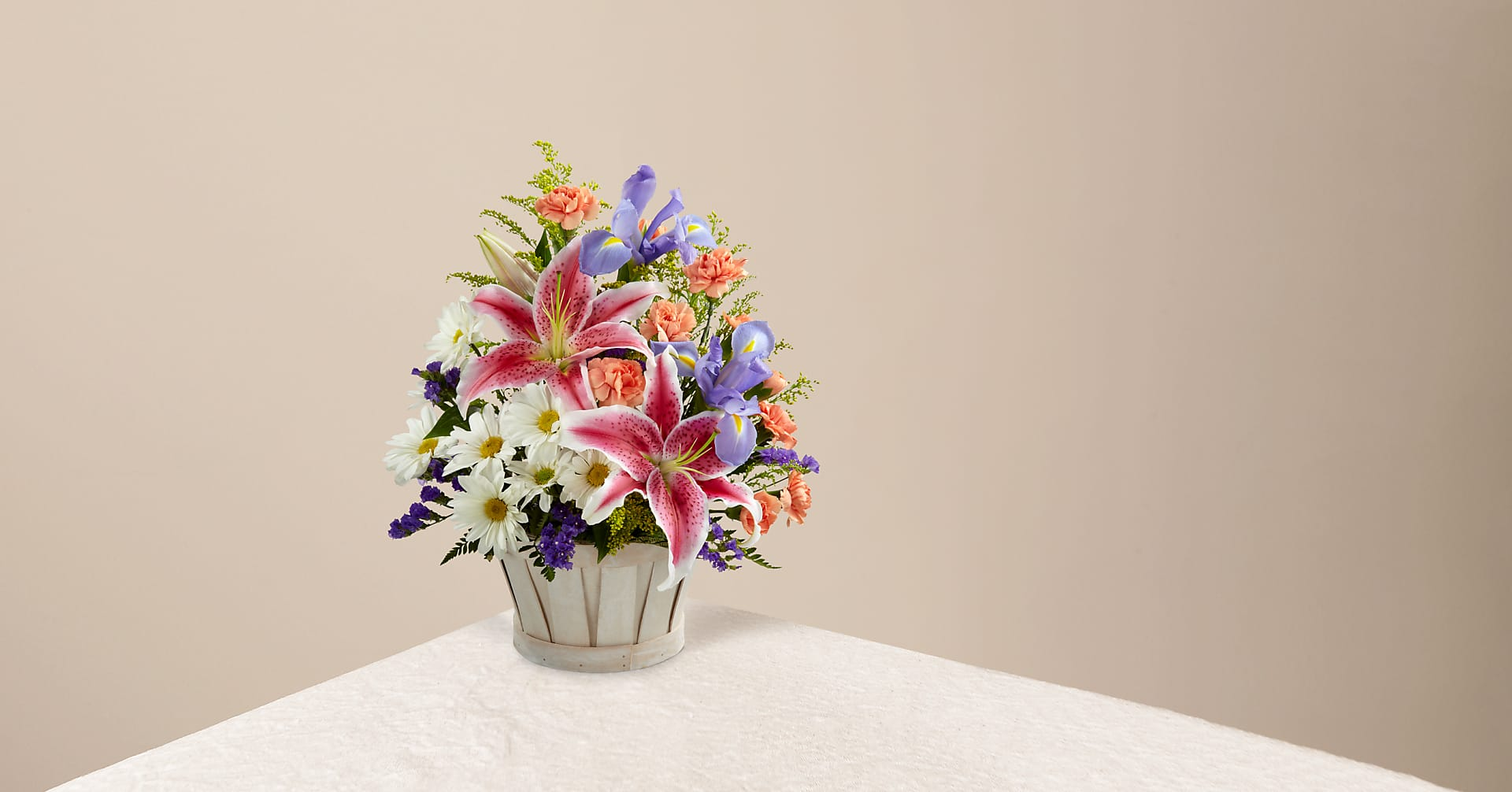 The Wondrous Nature™ Bouquet – Basket Included - Image 1 Of 3