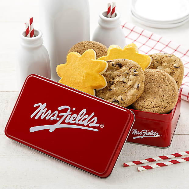 Mrs. Fields® Just Smile Cookie Tin