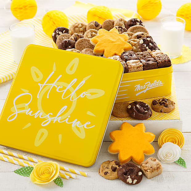 Mrs. Fields® Hello Sunshine Tin