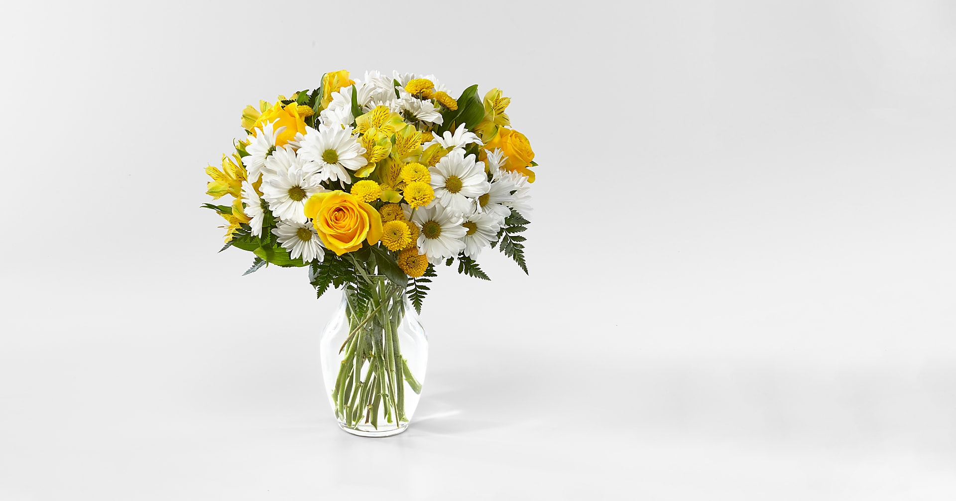 Sunny Sentiments Bouquet - Image 1 Of 2