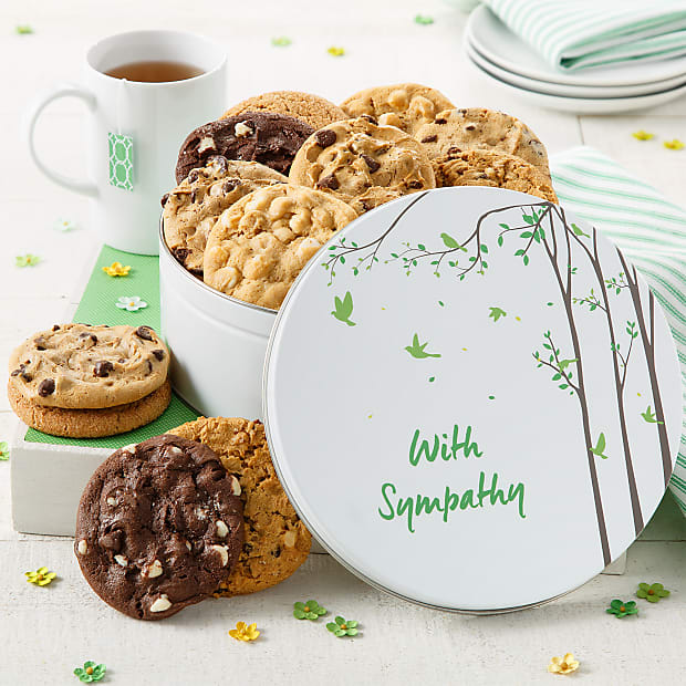 12 Cookie With Sympathy Tin