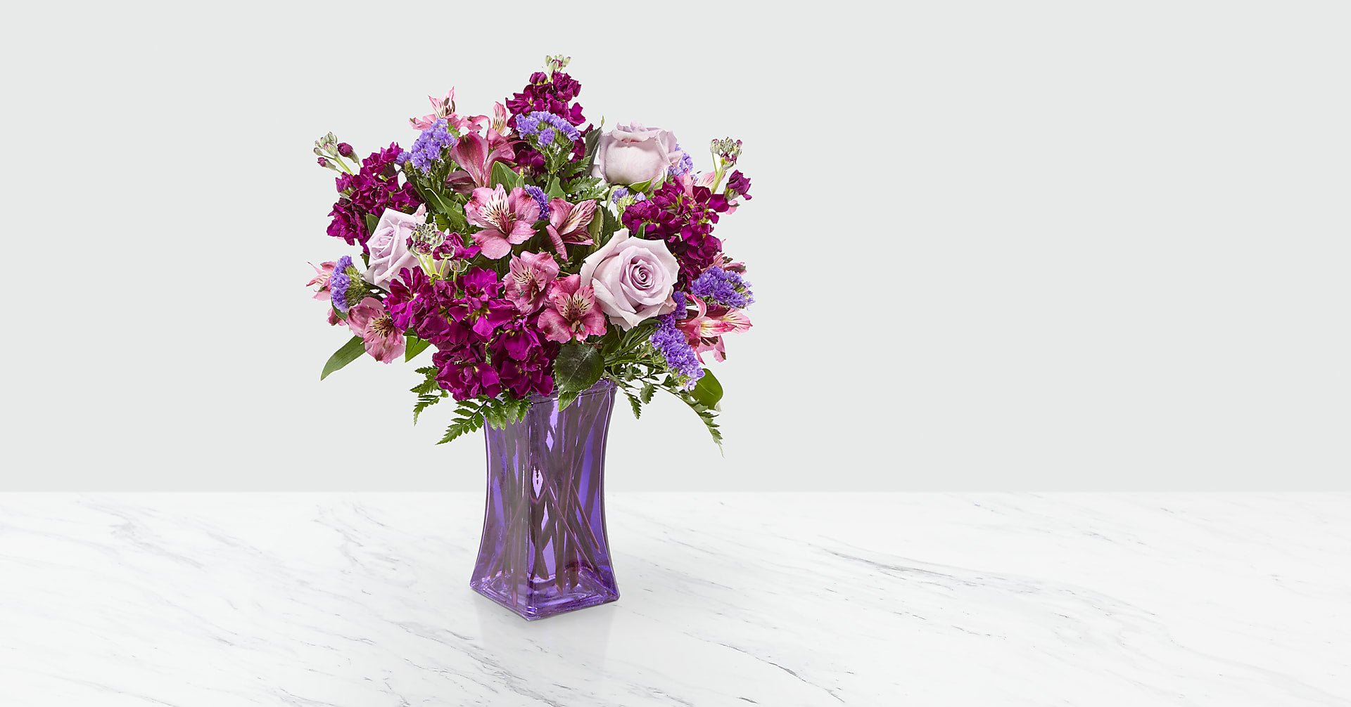 Purple Presence™ Bouquet - Image 1 Of 3