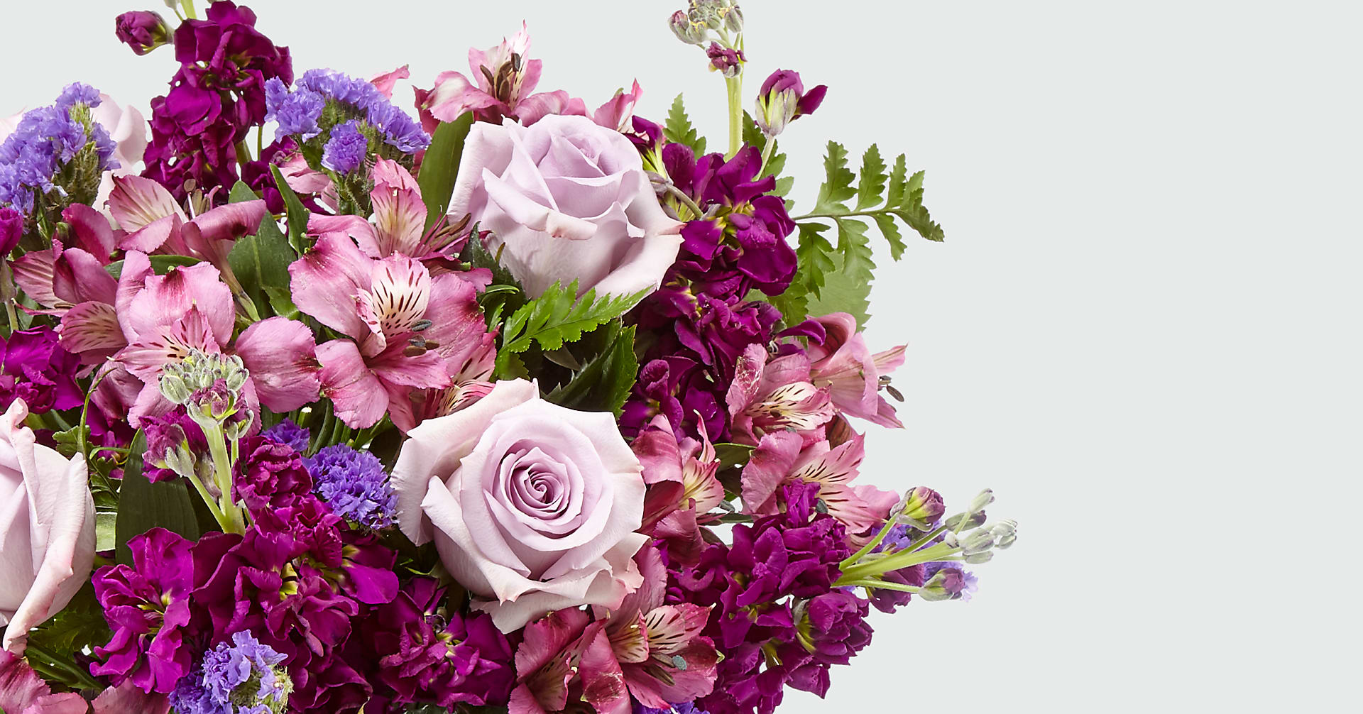 Purple Presence™ Bouquet- VASE INCLUDED - Image 2 Of 4