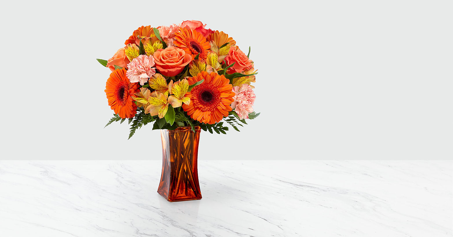 Orange Essence™ Bouquet - Image 1 Of 3