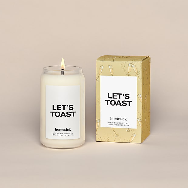 Let's Toast Homesick® Candle - Image 1 Of 4