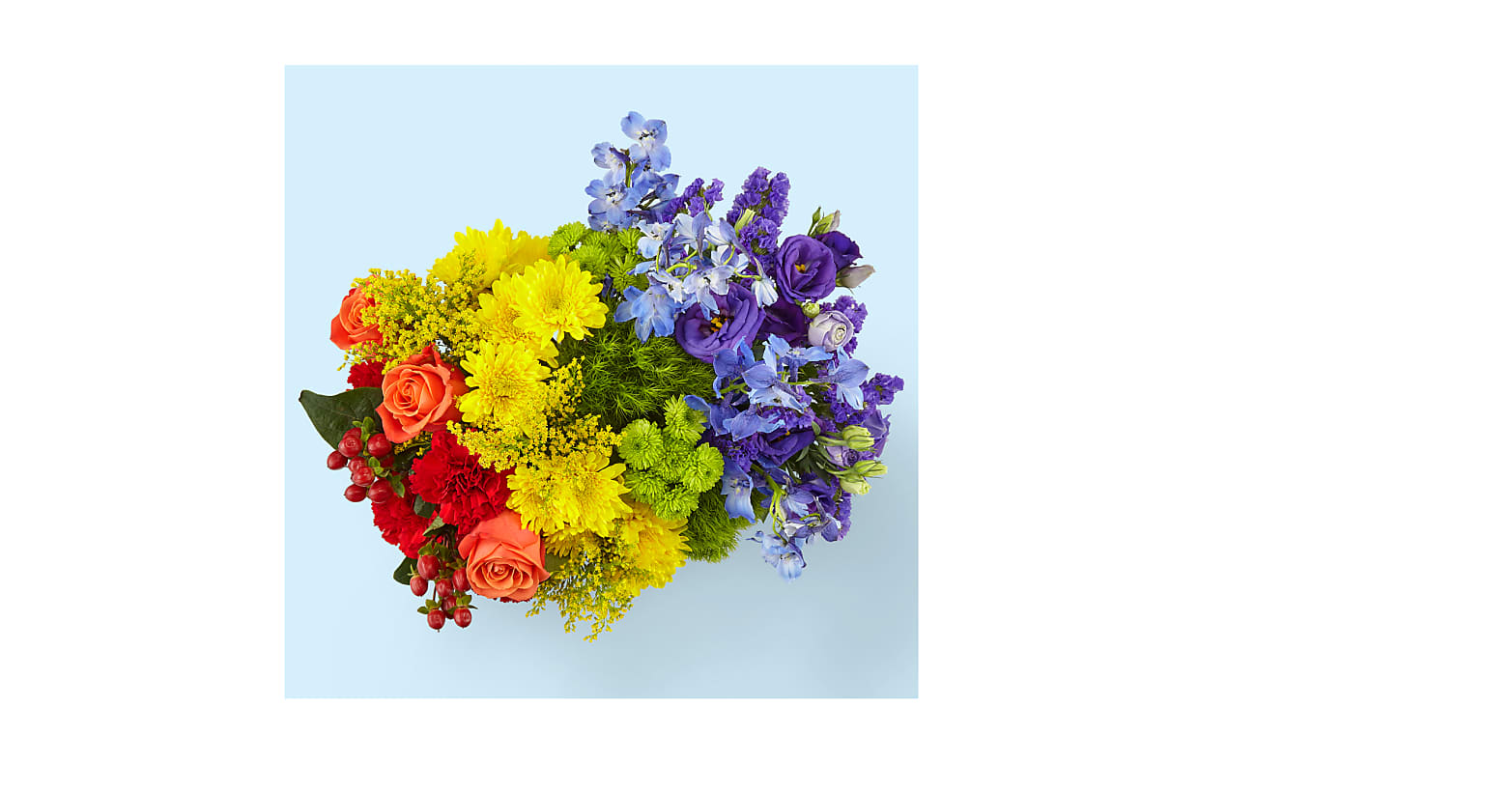 Color of Love Bouquet - Image 2 Of 2