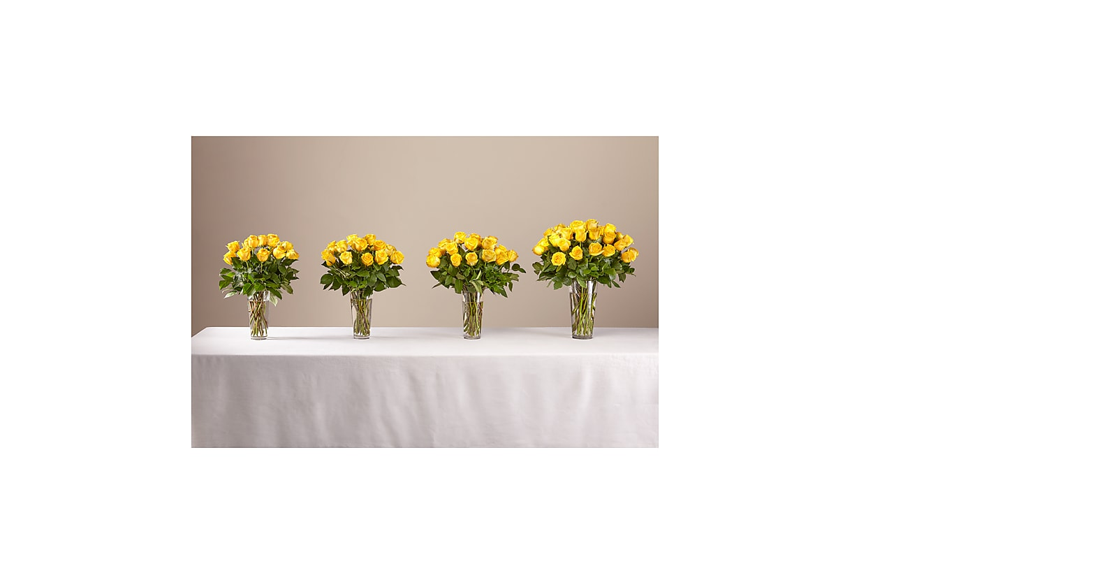 Long Stem Yellow Rose Bouquet - Image 3 Of 3