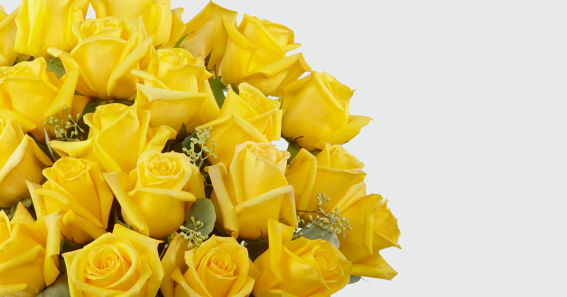 The Yellow Rose Bouquet - VASE INCLUDED - Image 3 Of 3