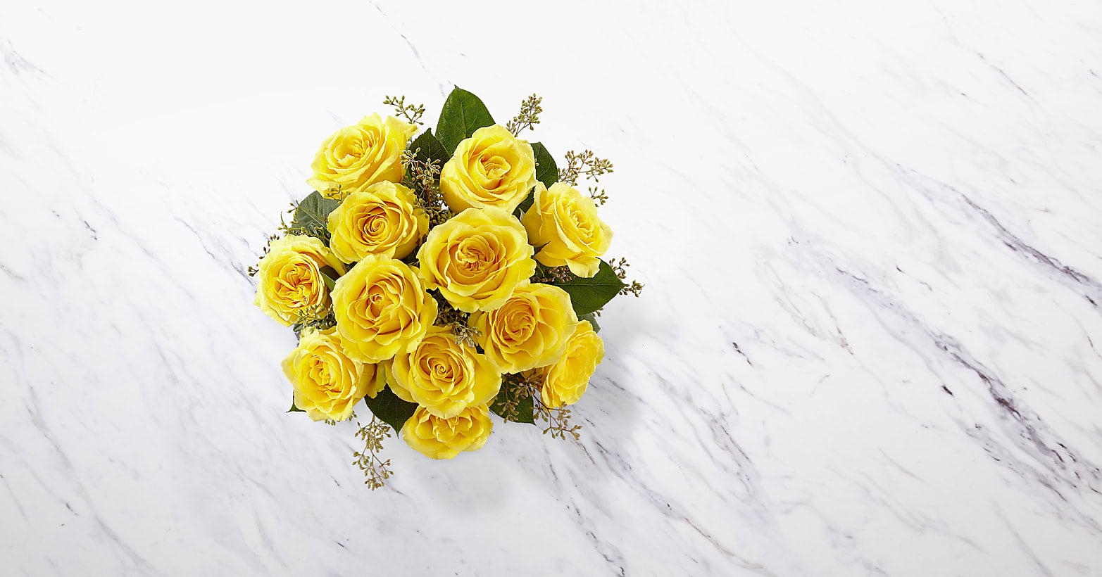 The Yellow Rose Bouquet - VASE INCLUDED - Image 2 Of 2