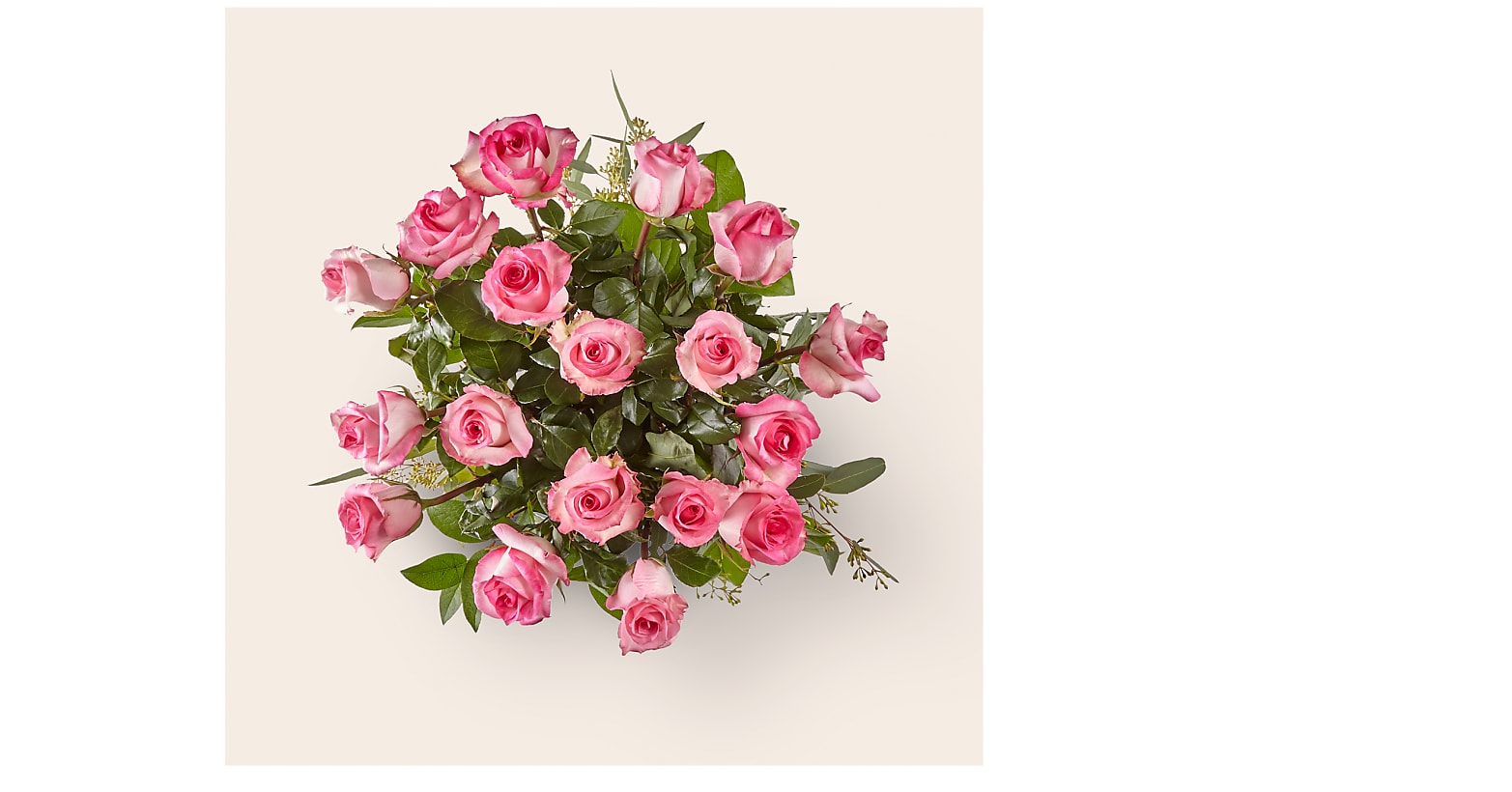 The Long Stem Pink Rose Bouquet - Image 2 Of 2