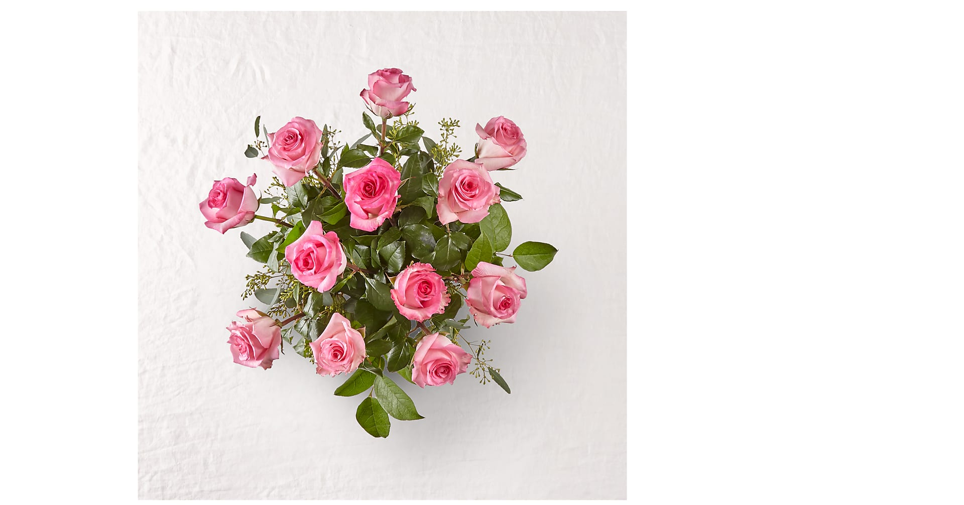 The Long Stem Pink Rose Bouquet - Image 2 Of 3
