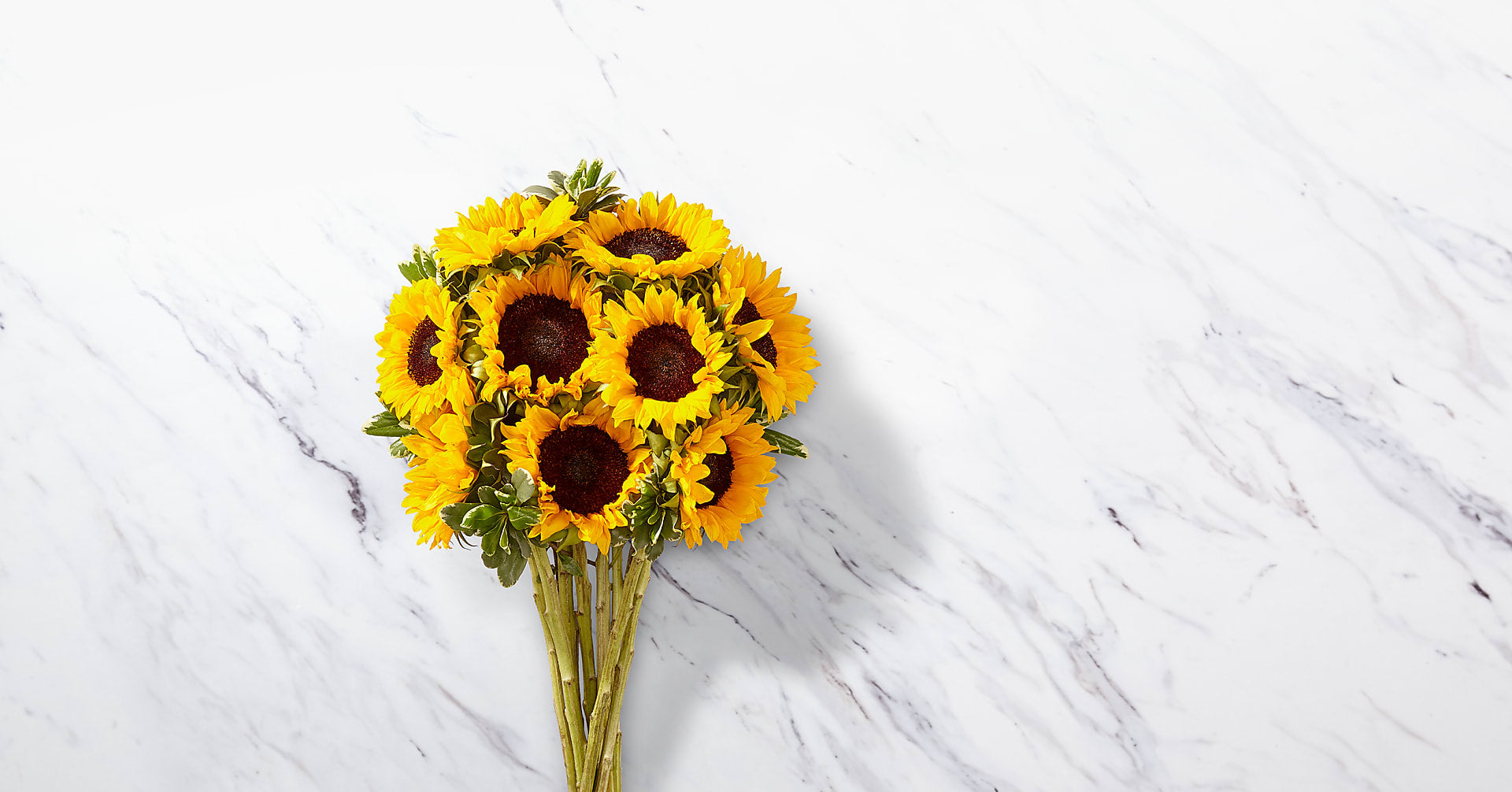 Endless Summer Sunflower Bouquet - 9 Stems with Vase - Image 2 Of 5