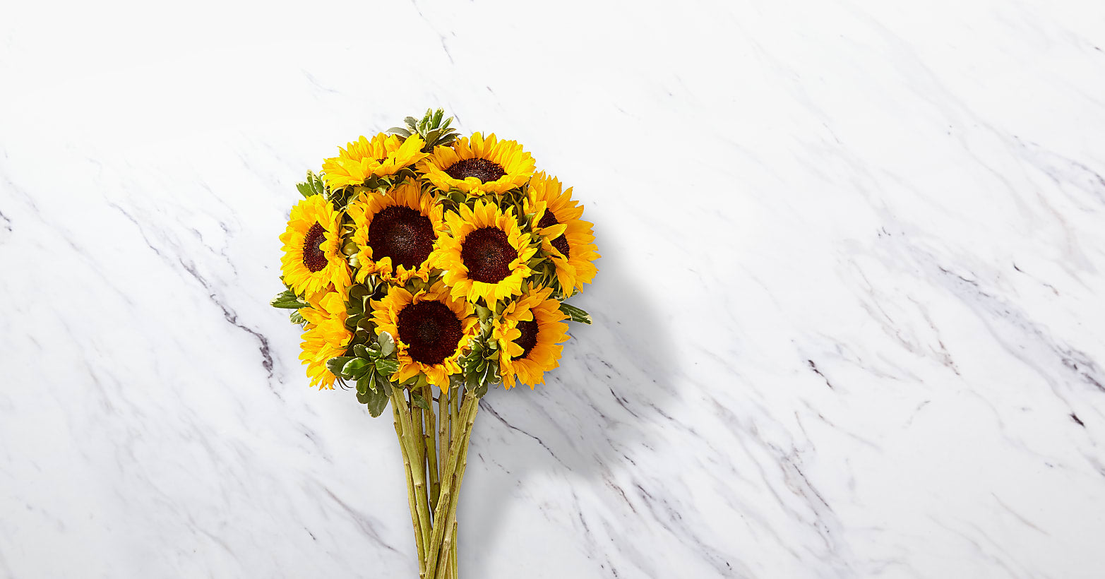 Endless Summer Sunflower Bouquet - 9 Stems with Vase - Image 2 Of 4