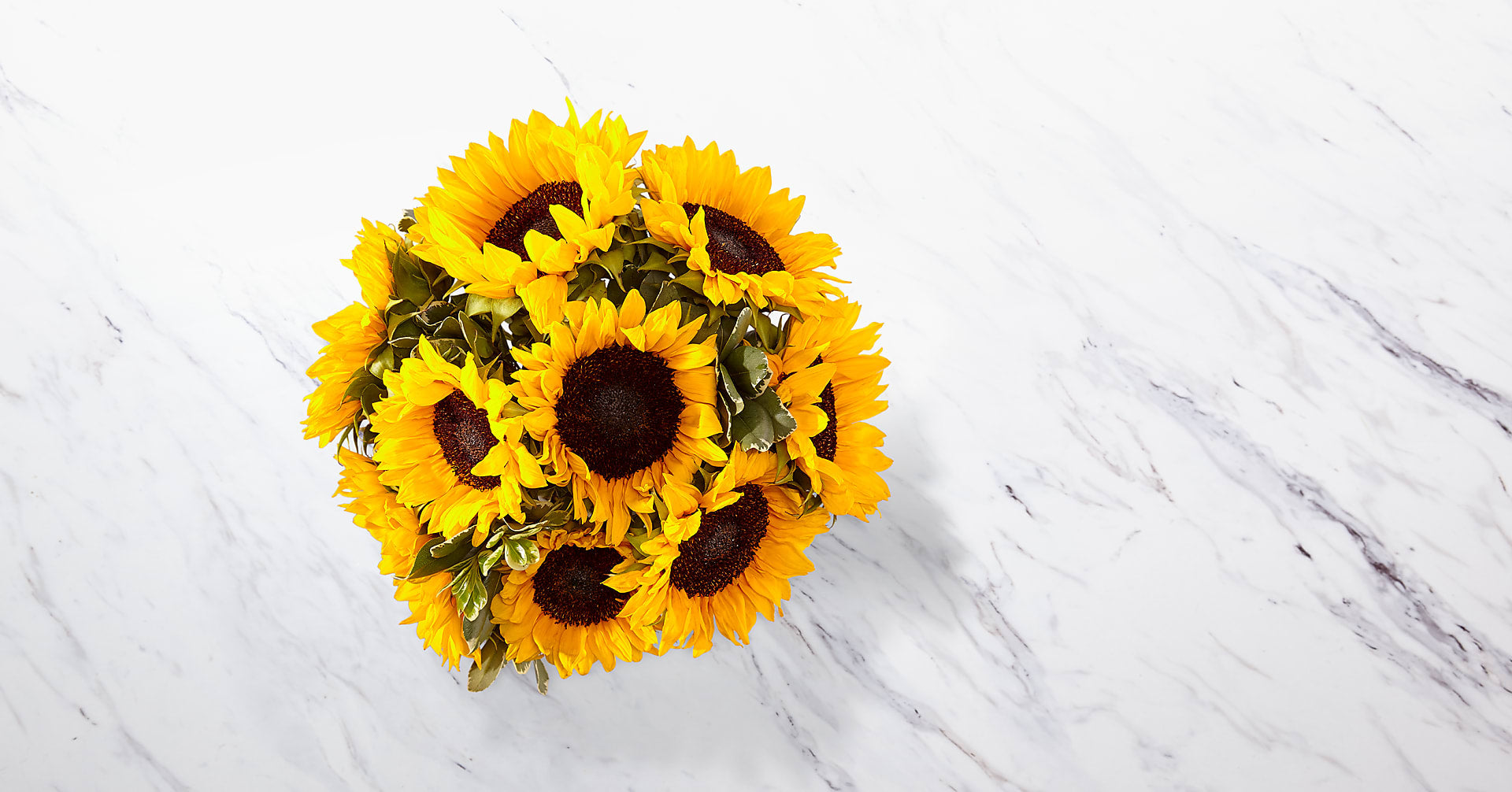 Endless Summer Sunflower Bouquet - 9 Stems with Vase - Image 3 Of 5