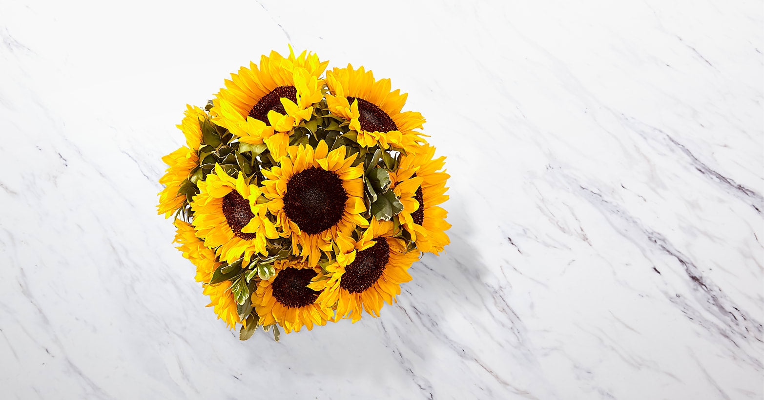 Endless Summer Sunflower Bouquet - 9 Stems with Vase - Image 3 Of 4