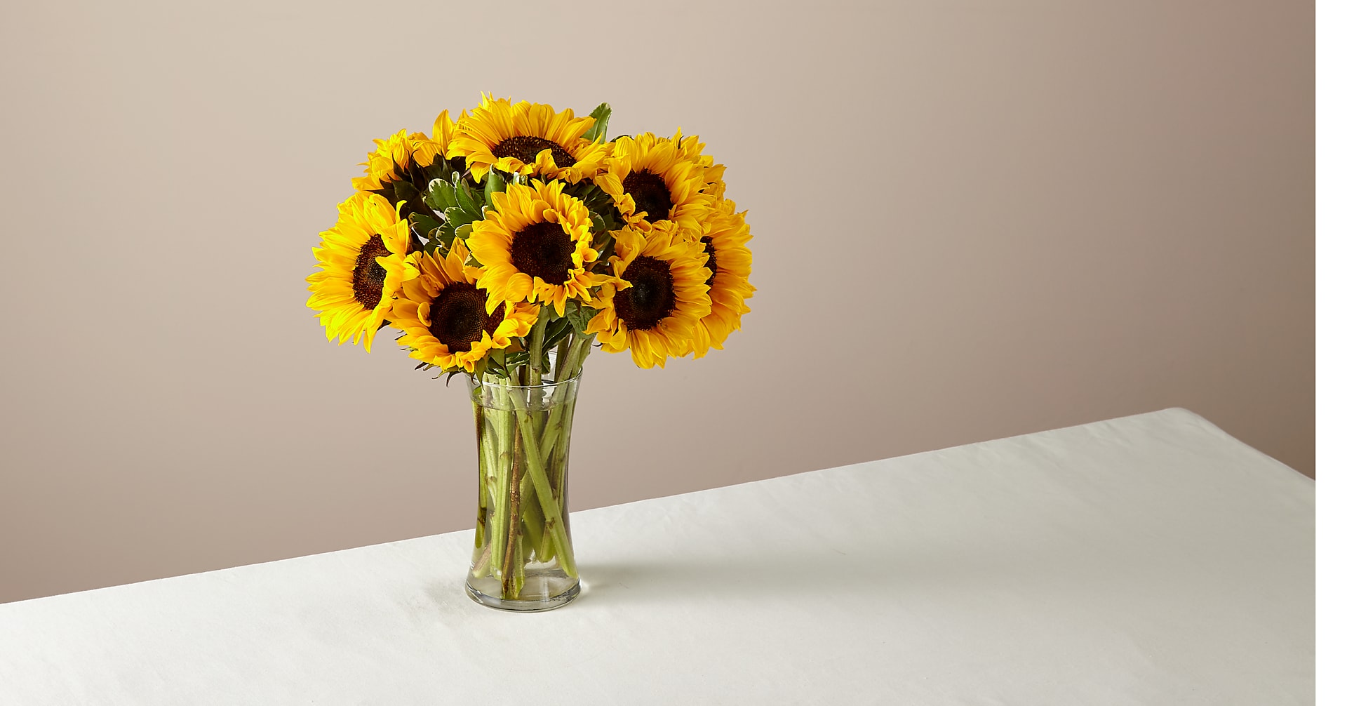 Honey Bee Sunflower Bouquet - Image 1 Of 5