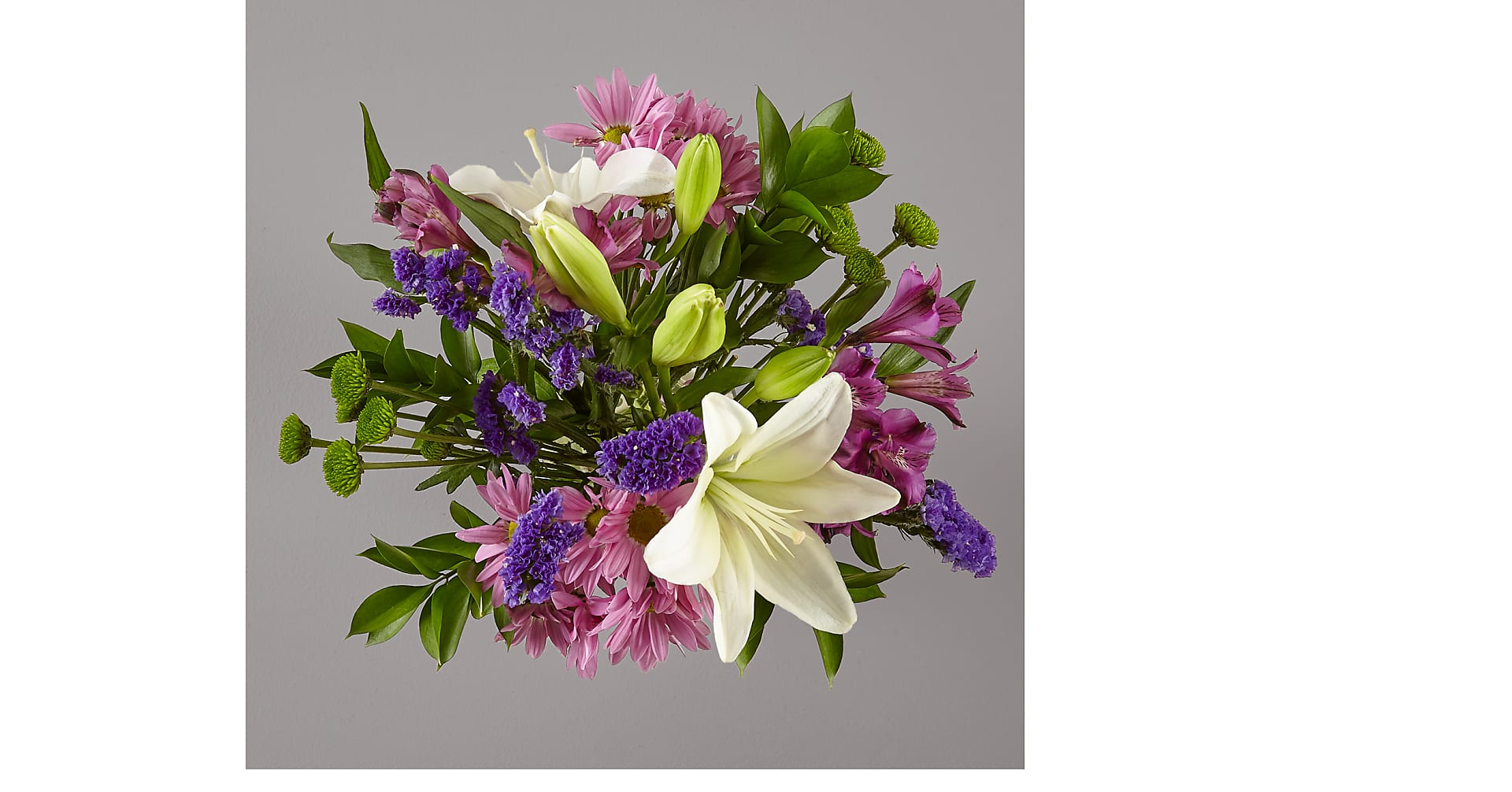 Lavender Fields Mixed Flower Bouquet - Image 2 Of 3