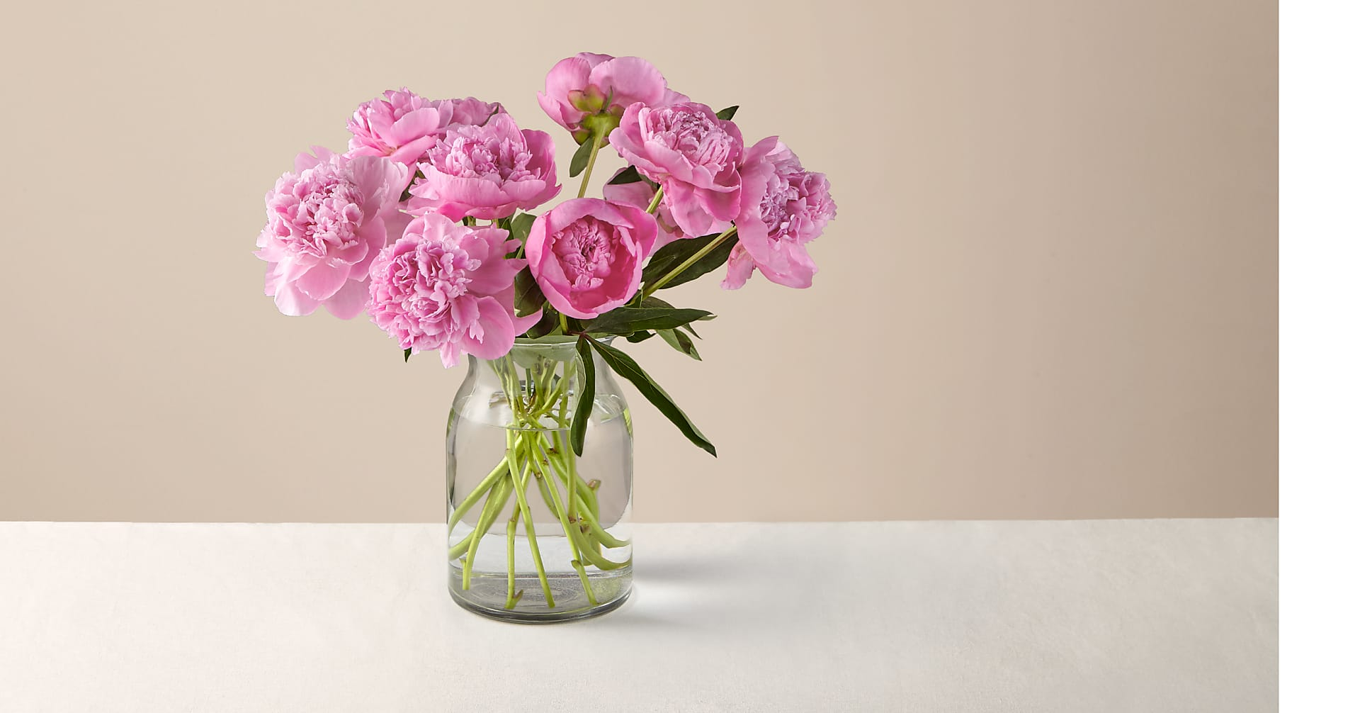 In Full Bloom Peony Bouquet - Image 1 Of 3